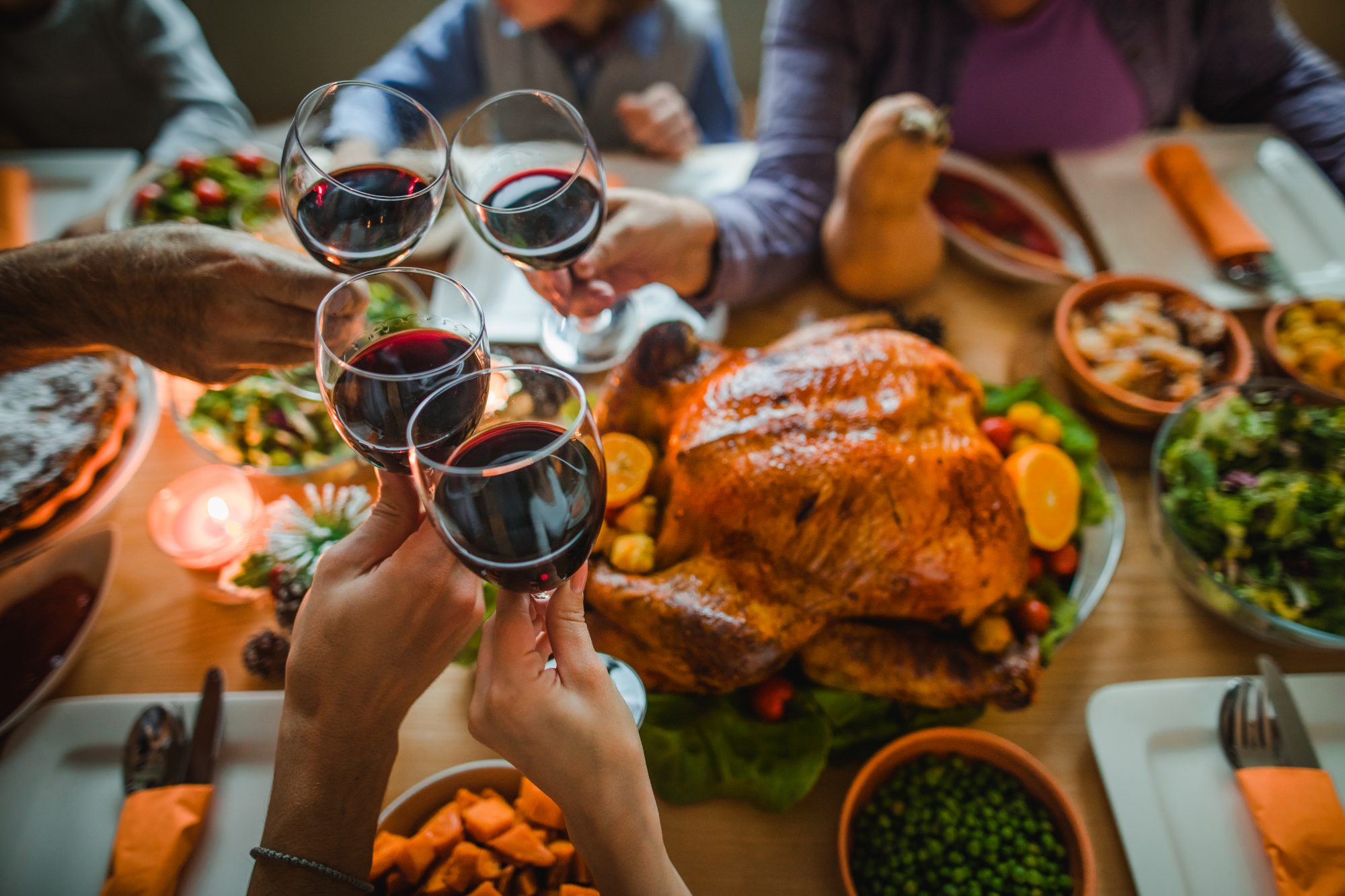 Thanksgiving Wine Getty 10/22/19