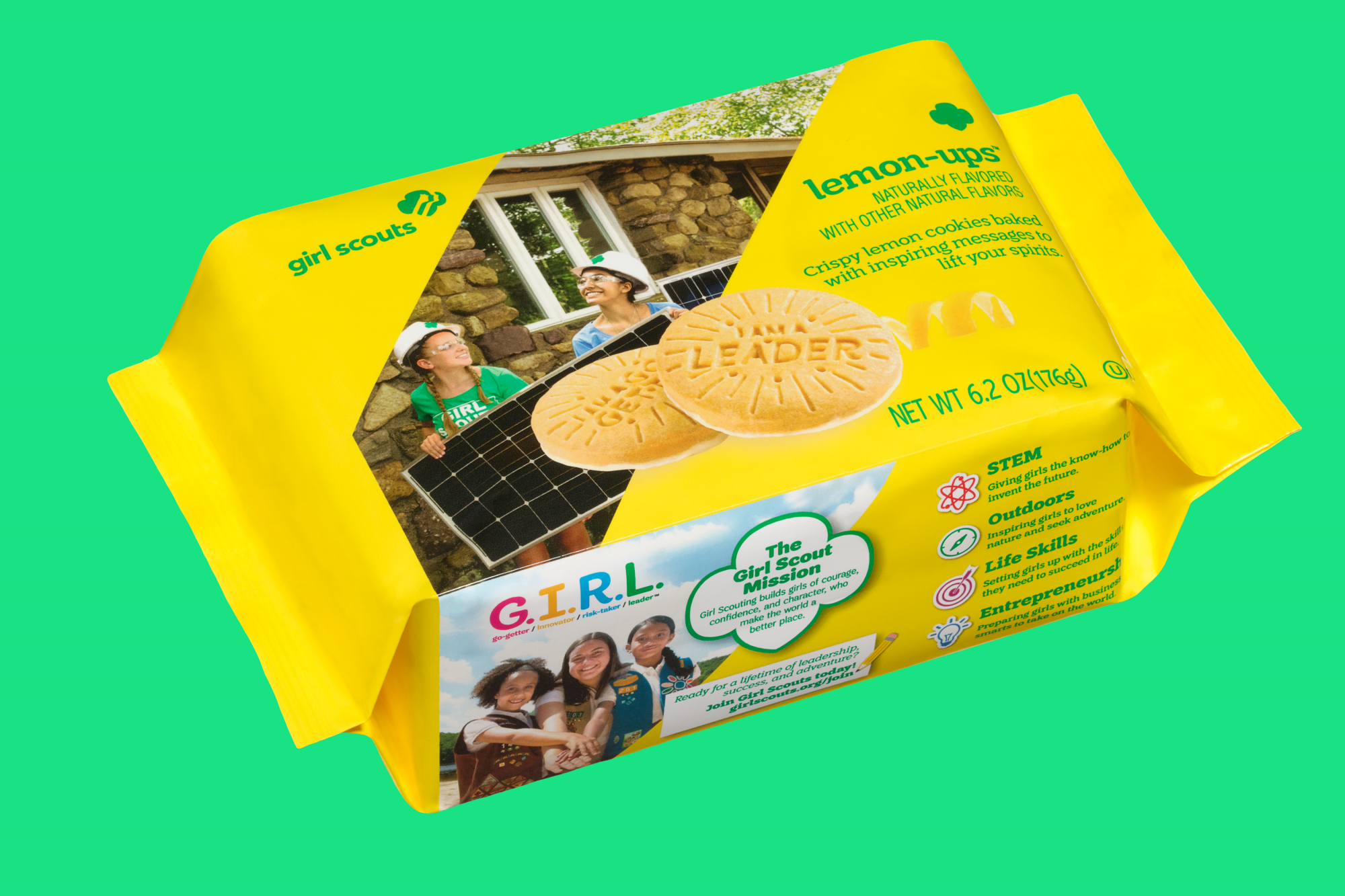 Lemon-Up Girl Scout Cookie new 2020