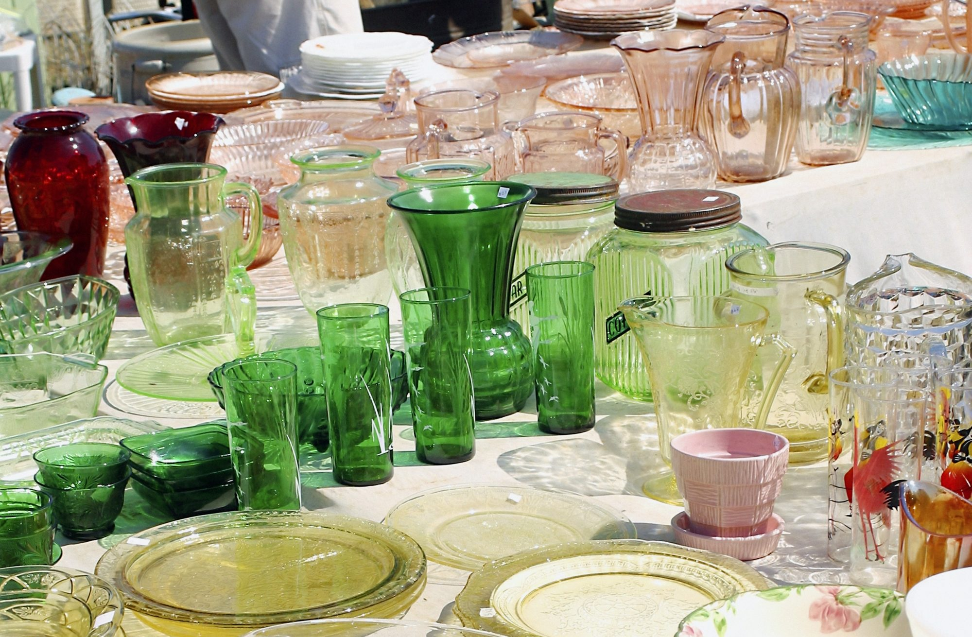 Getty vintage glassware cropped