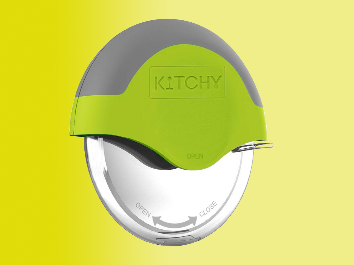 Kitchy Pizza Cutter Wheel Tout