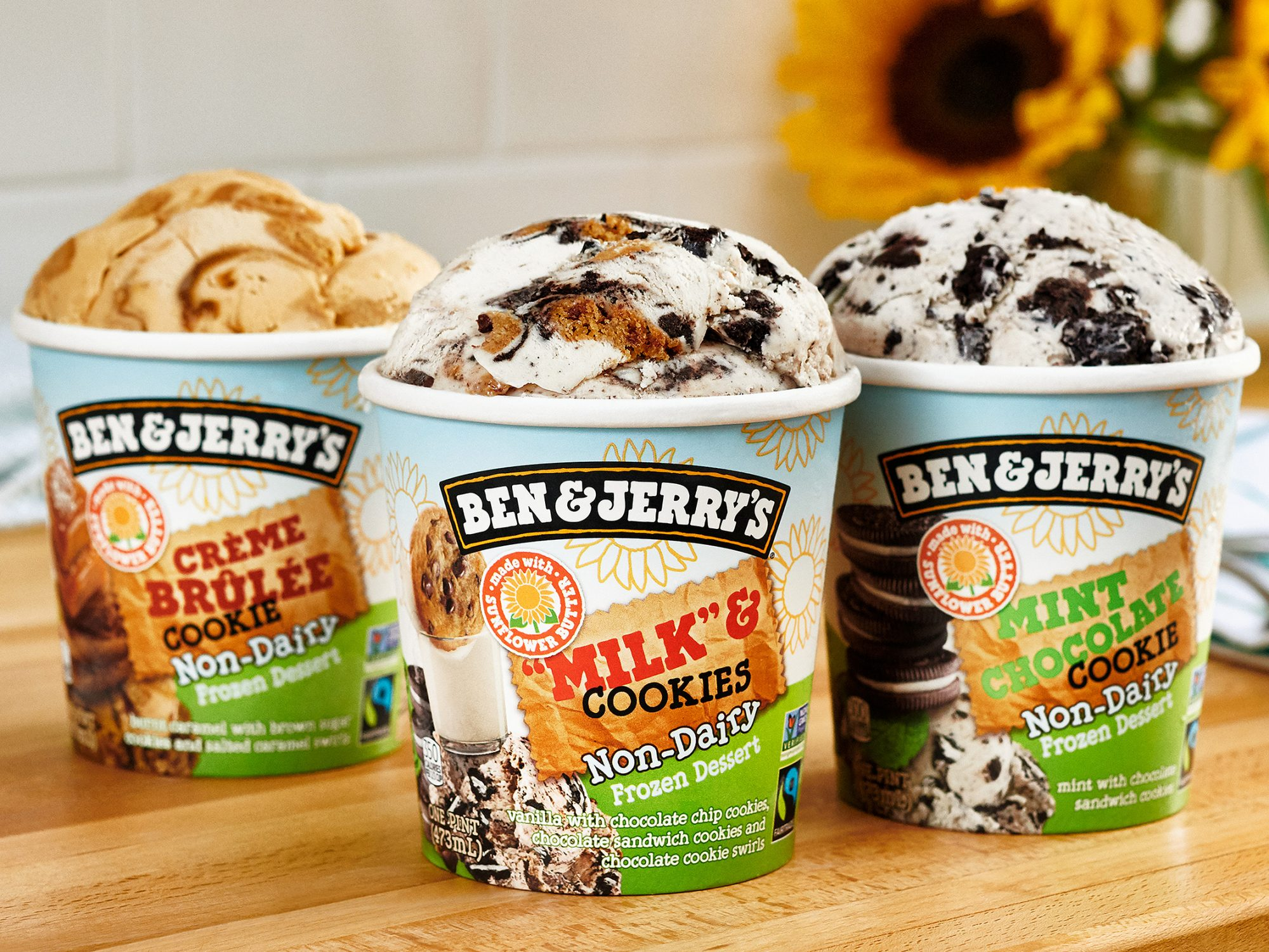 Ben & Jerry's Newest Non-Dairy Flavors Are Made With a Creative Ingredient