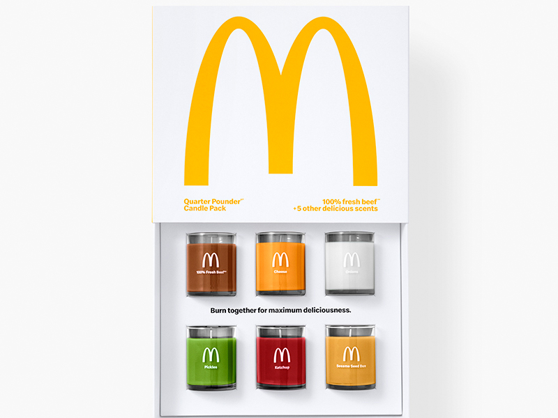 These Quarter Pounder Candles Will Make Your Home Smell Like McDonald's
