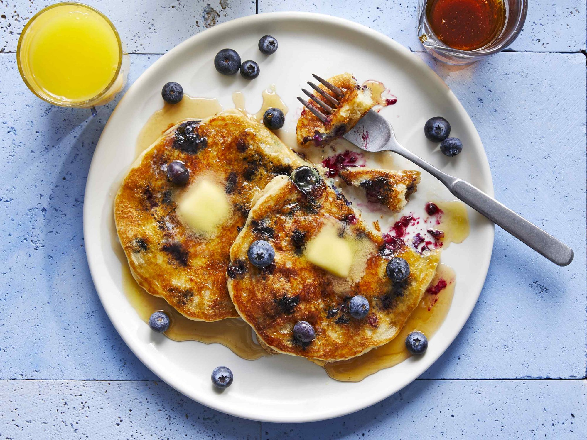mr - Blueberry Pancakes Image