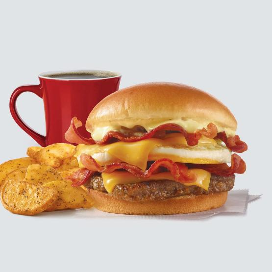 Wendy's Breakfast Baconator