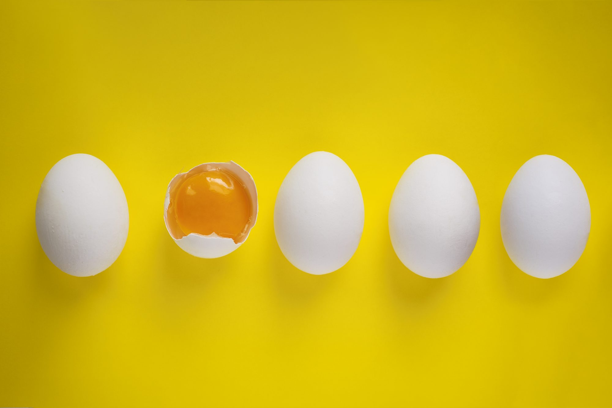 Egg on Yellow Background Getty 3/26/20