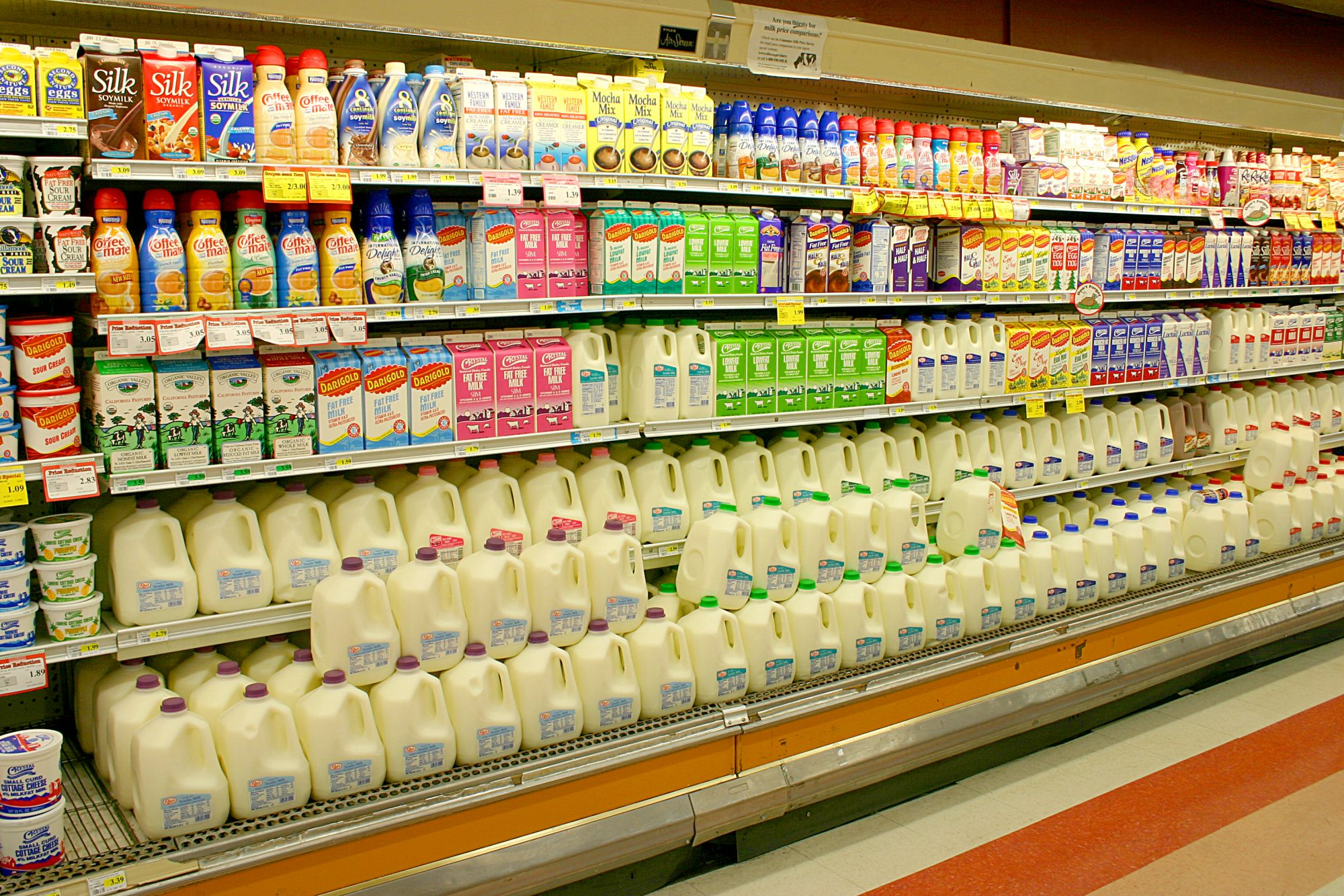 Milk Aisle Getty 3/26/20