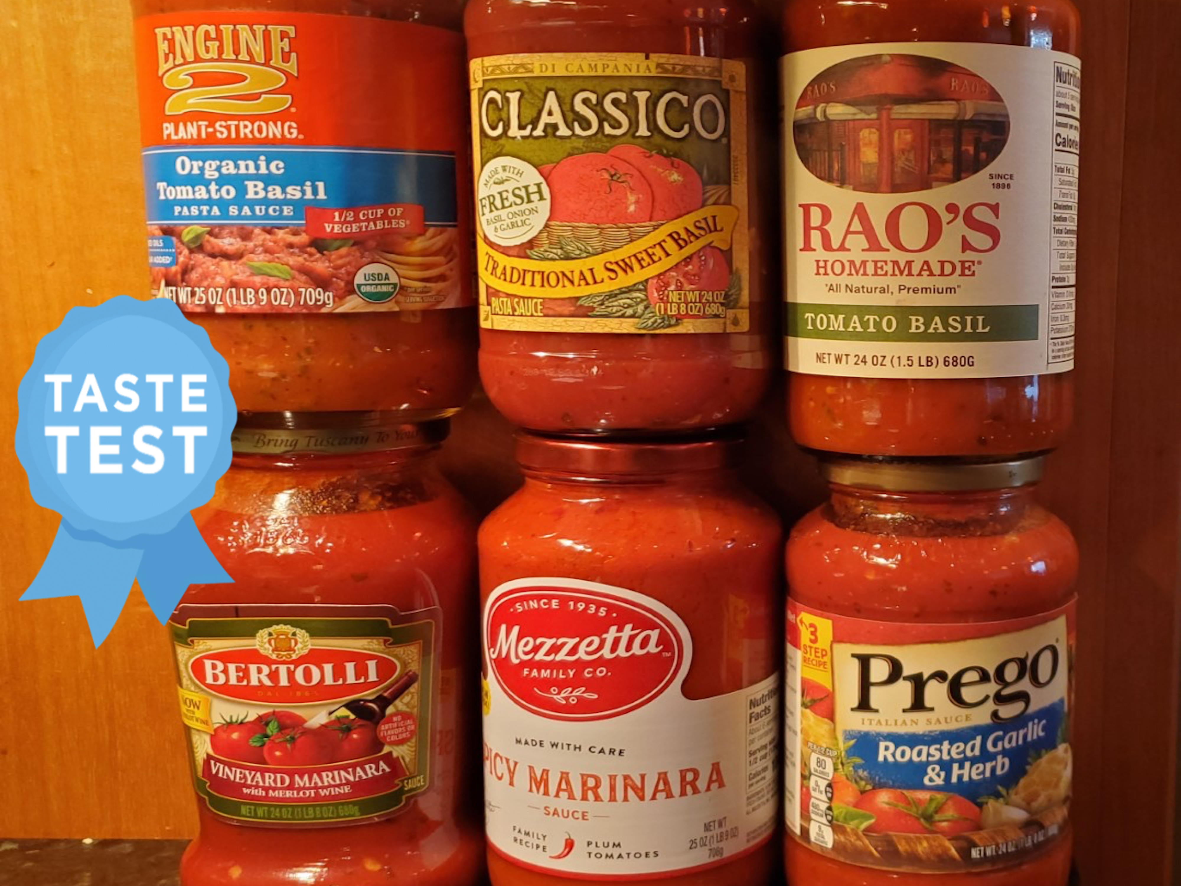 We Tried 6 Store-Bought Marinara Sauces and This Was Our Favorite