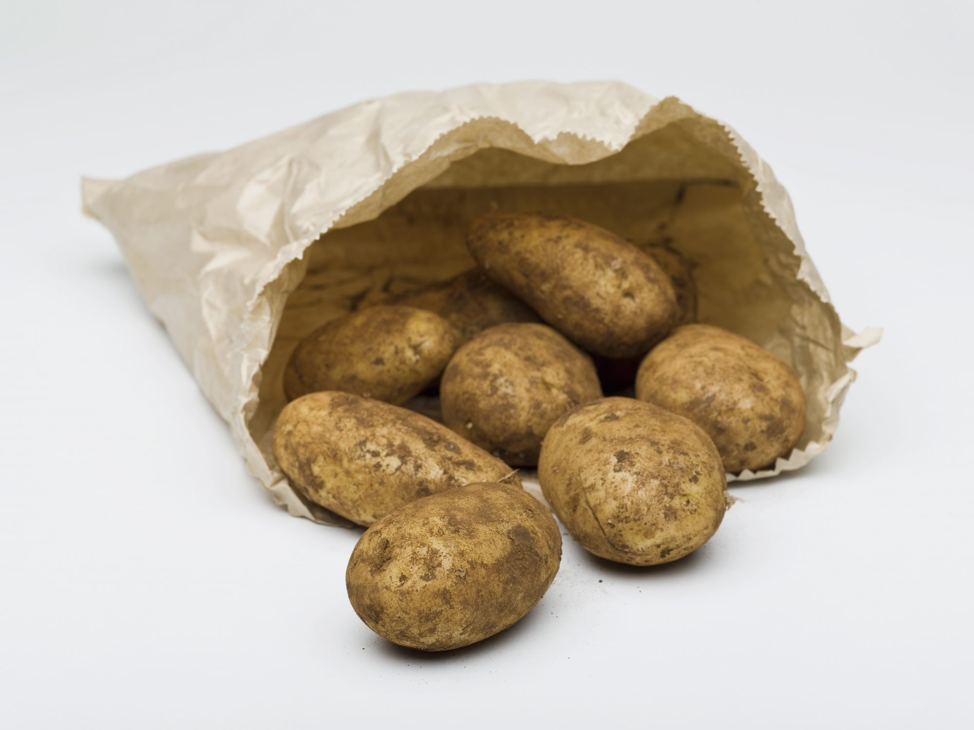 Potatoes in a paper bag Getty 4/7/20