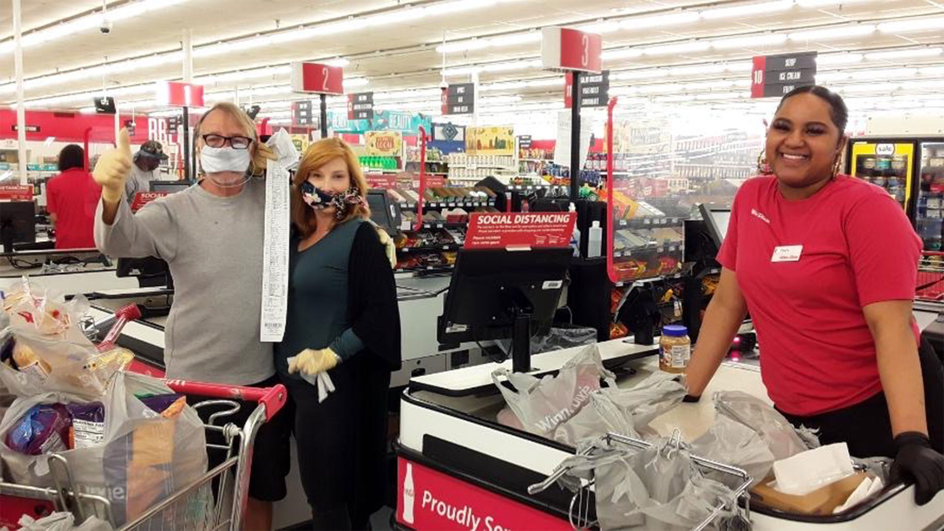 Tyler Perry Pays for All Groceries in Kroger 2