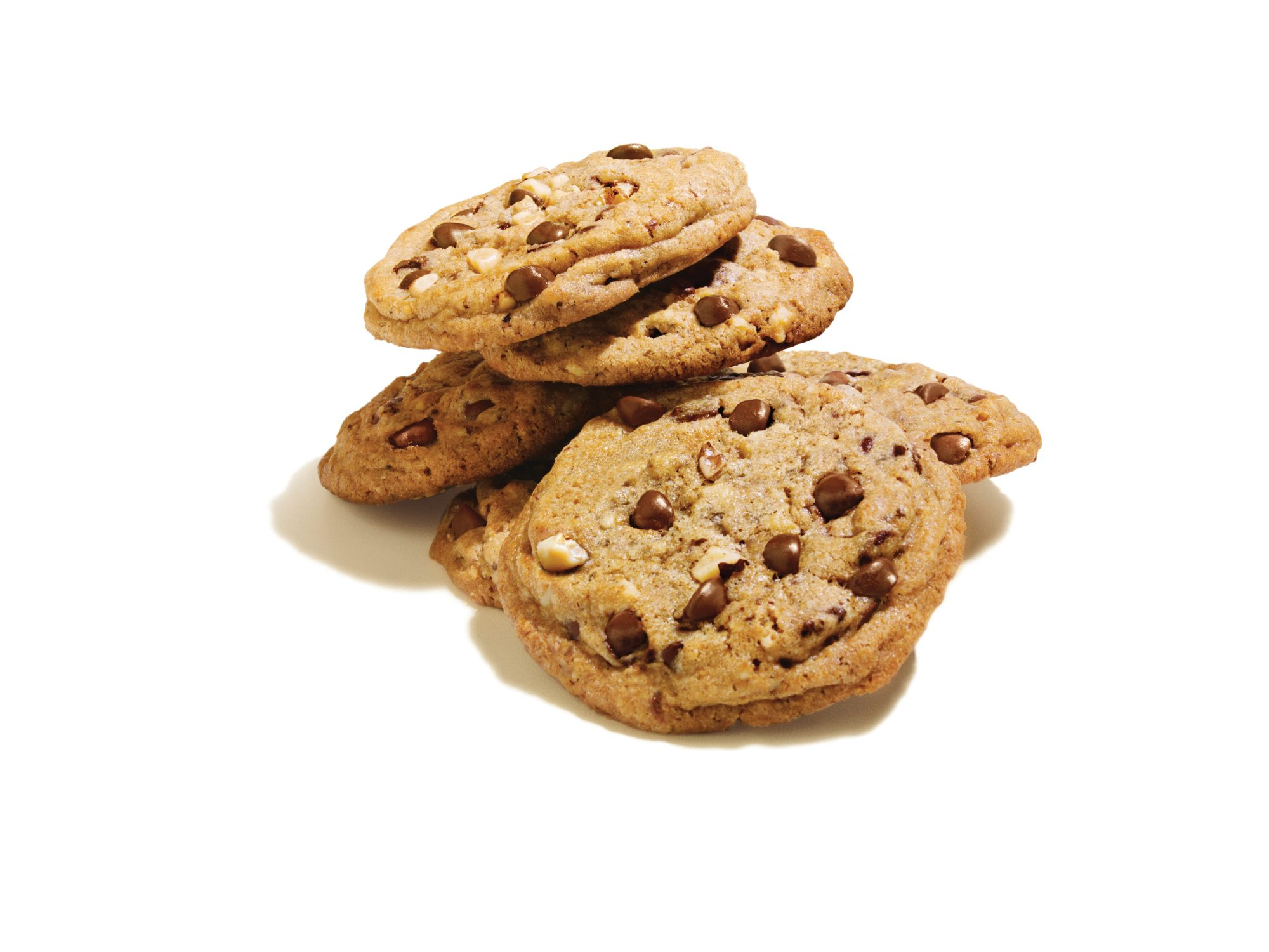 DoubleTree Chocolate Chip Cookies: Cookie Stack