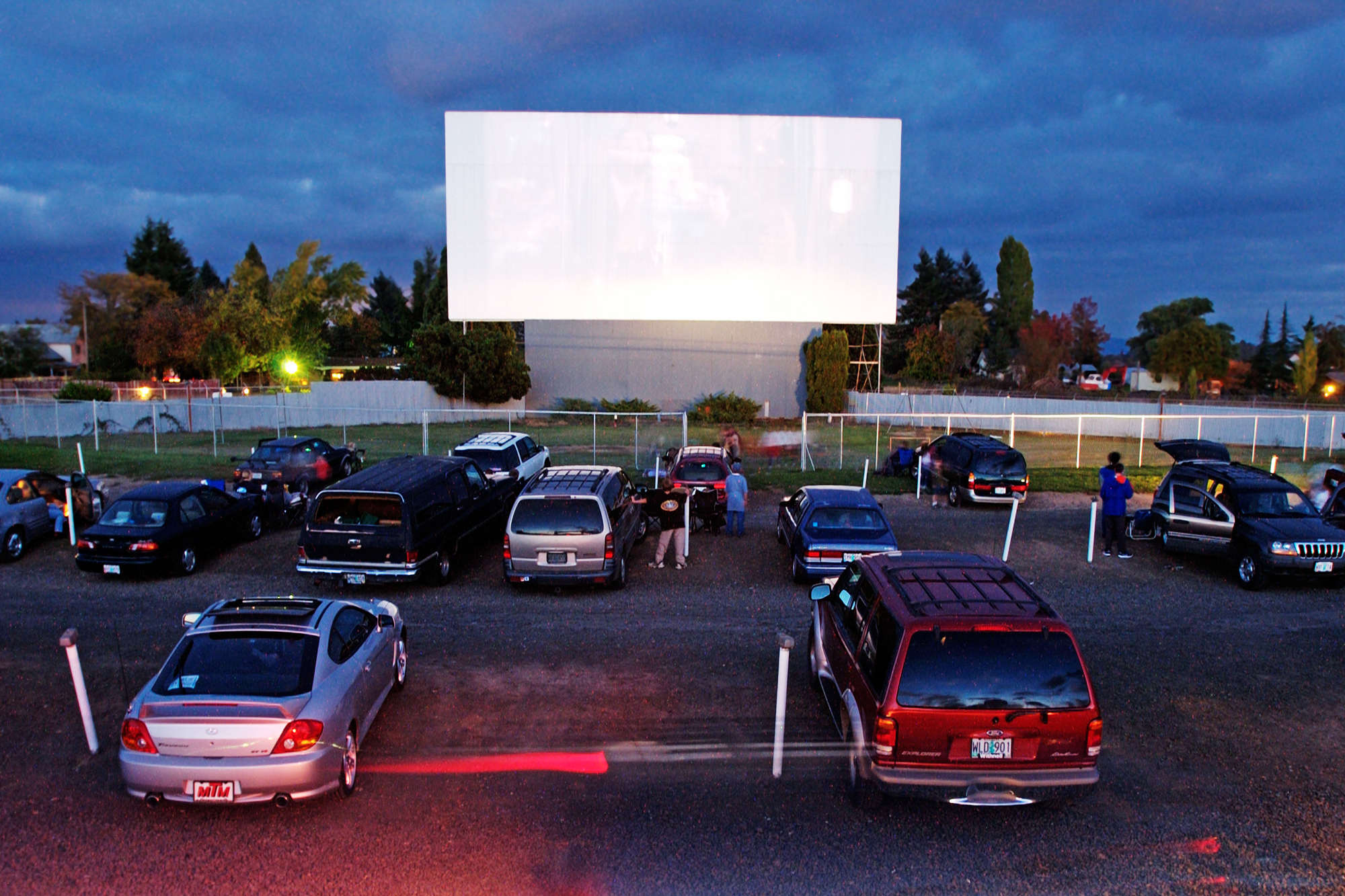 Restaurants Are Turning Their Parking Lots into Drive-In Movie Theaters hed