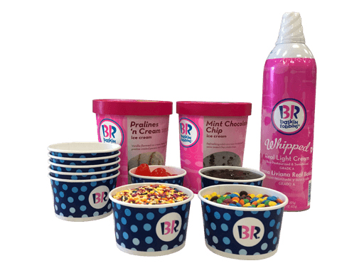 Baskin-Robbins Sundae Kit