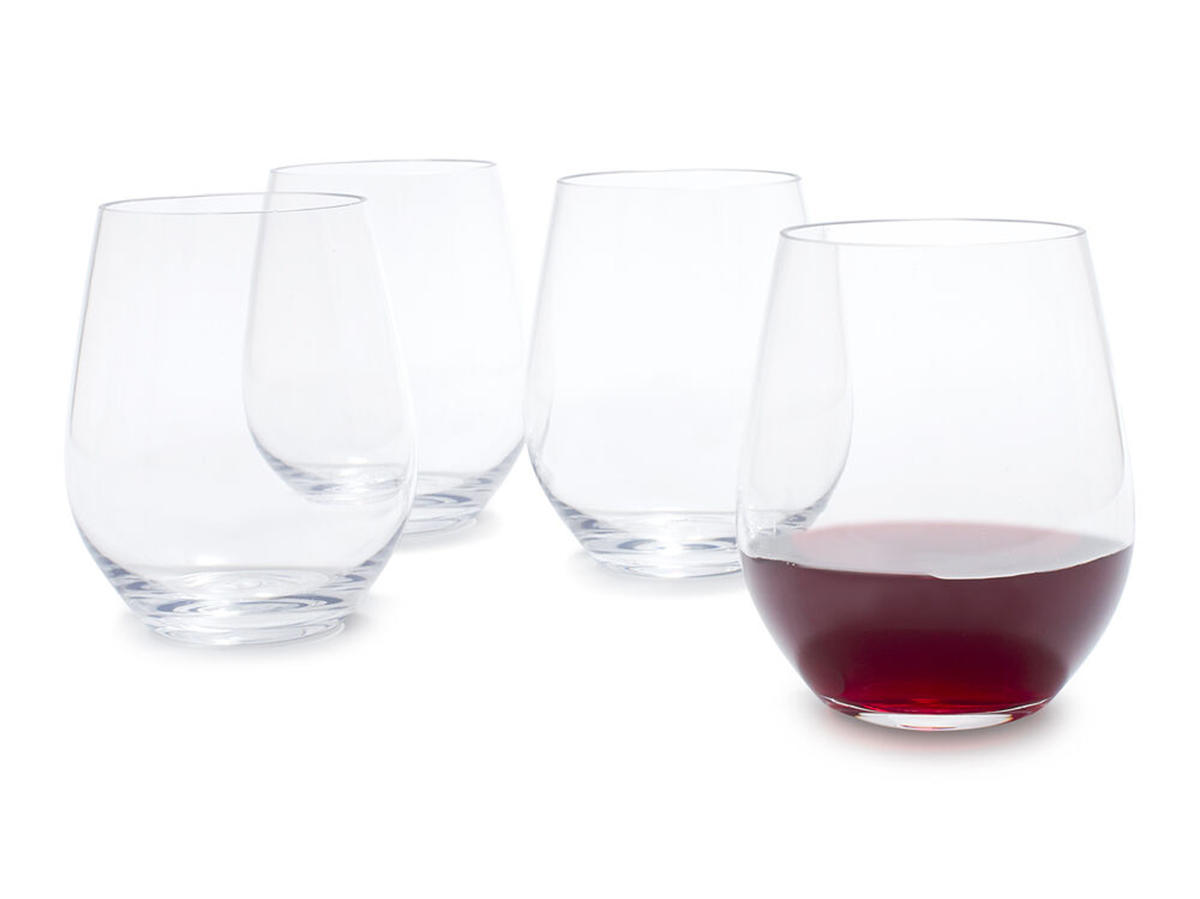 Outdoor Stemless Wine Glasses