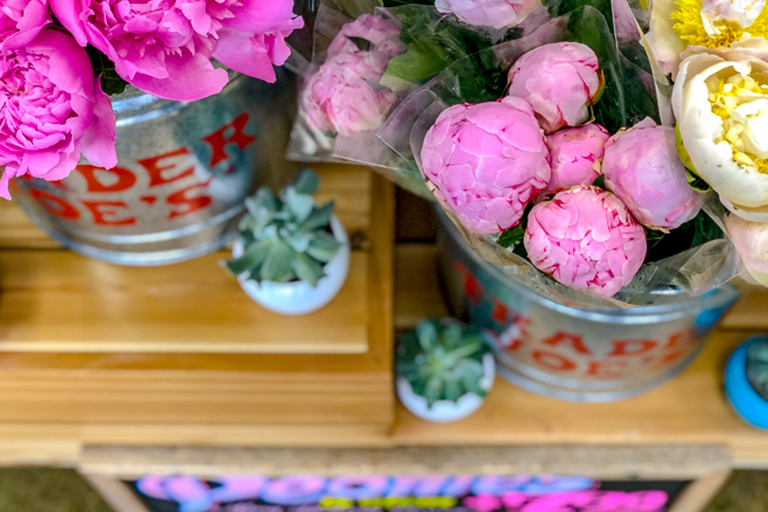 Trader Joe's Famous Peonies Are Back in Stores