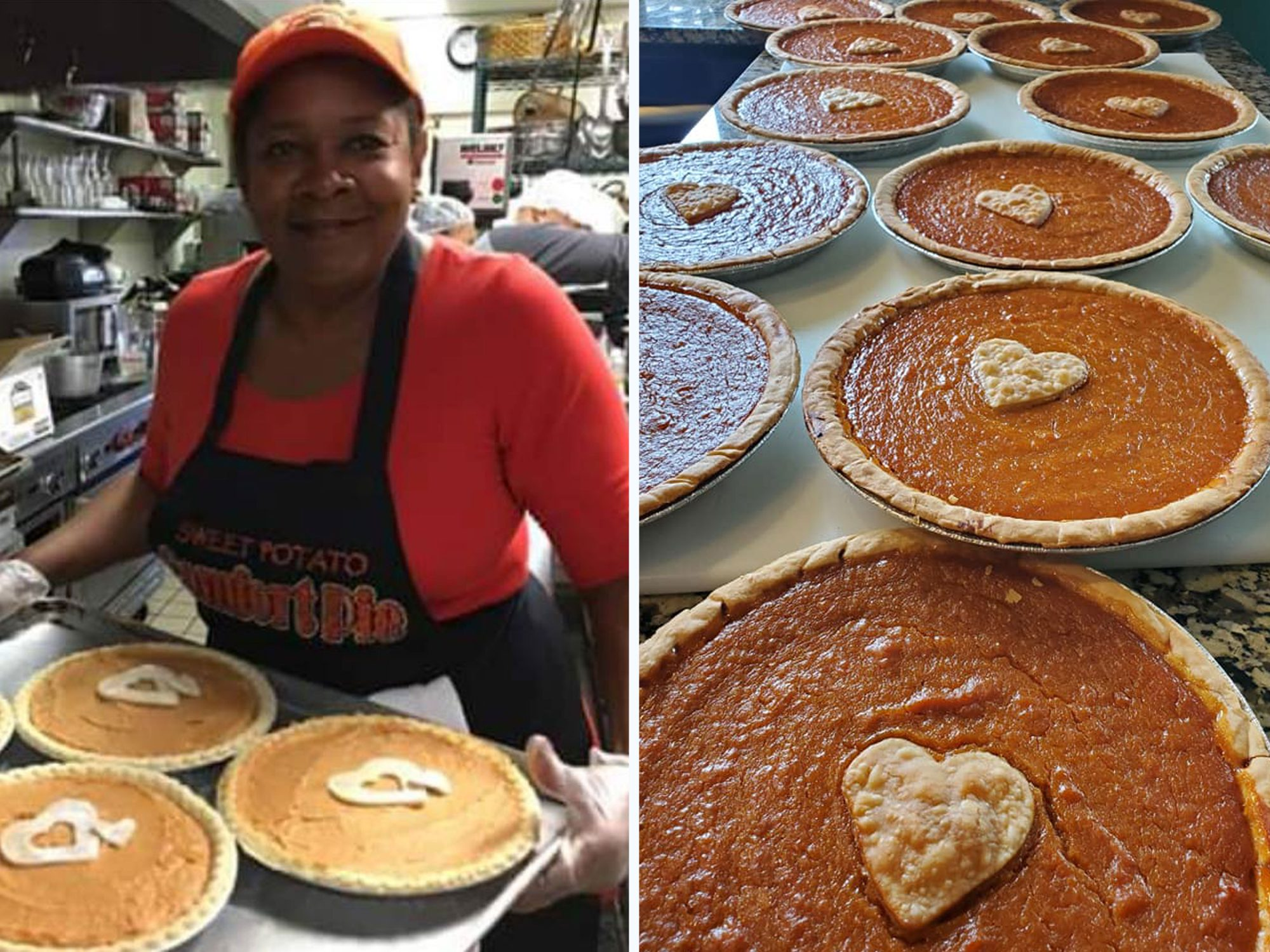 Minneapolis Baker Rose McGee Sweet Potato Pie