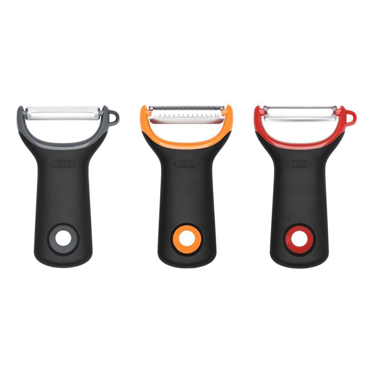 OXO Good Grips 3 Piece Prep Peeler Set