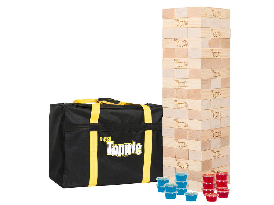 Tipsy Topple Game with Carrying Case