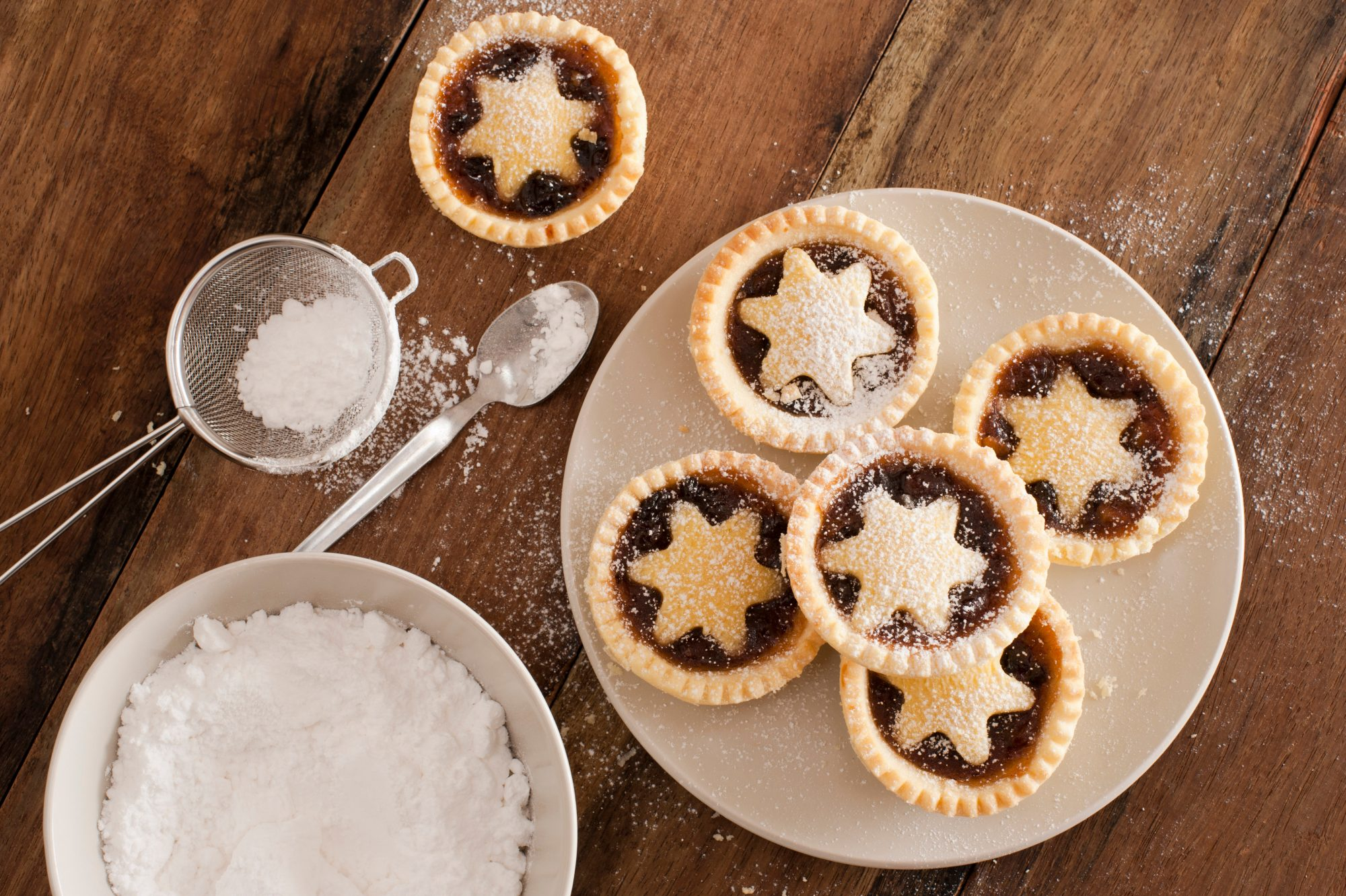 Mince pies plate Getty 7/1/20