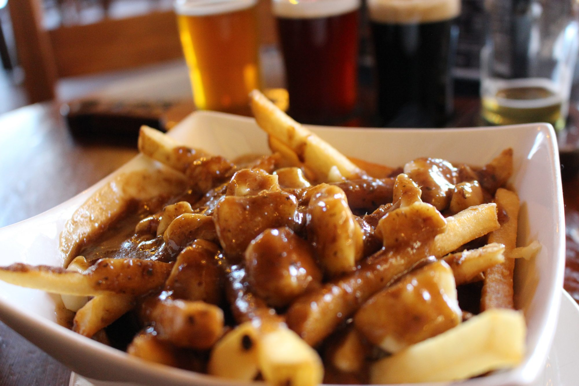 Poutine and Beer Getty 7/14/20