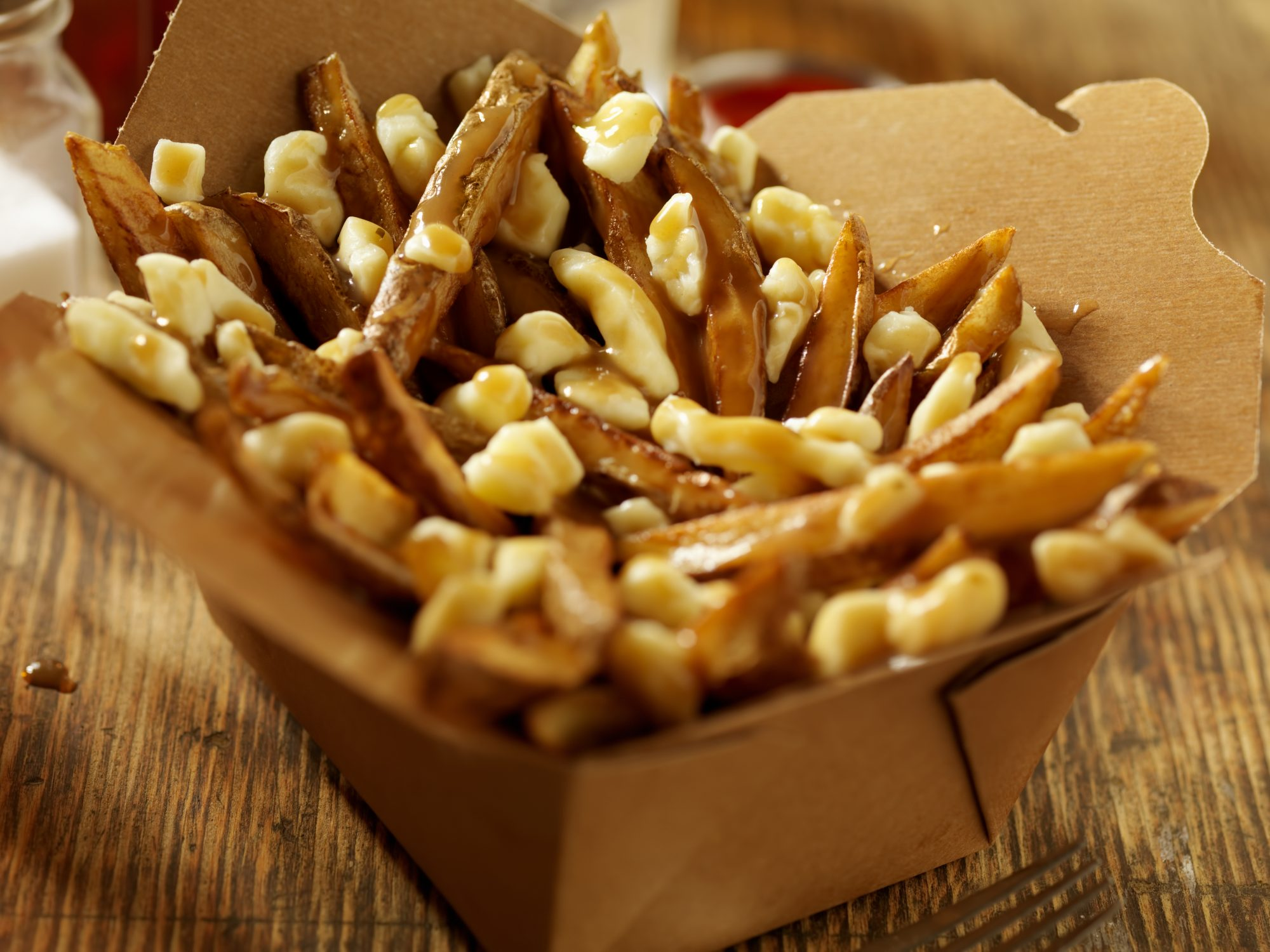 Poutine takeout 7/14/20 Getty