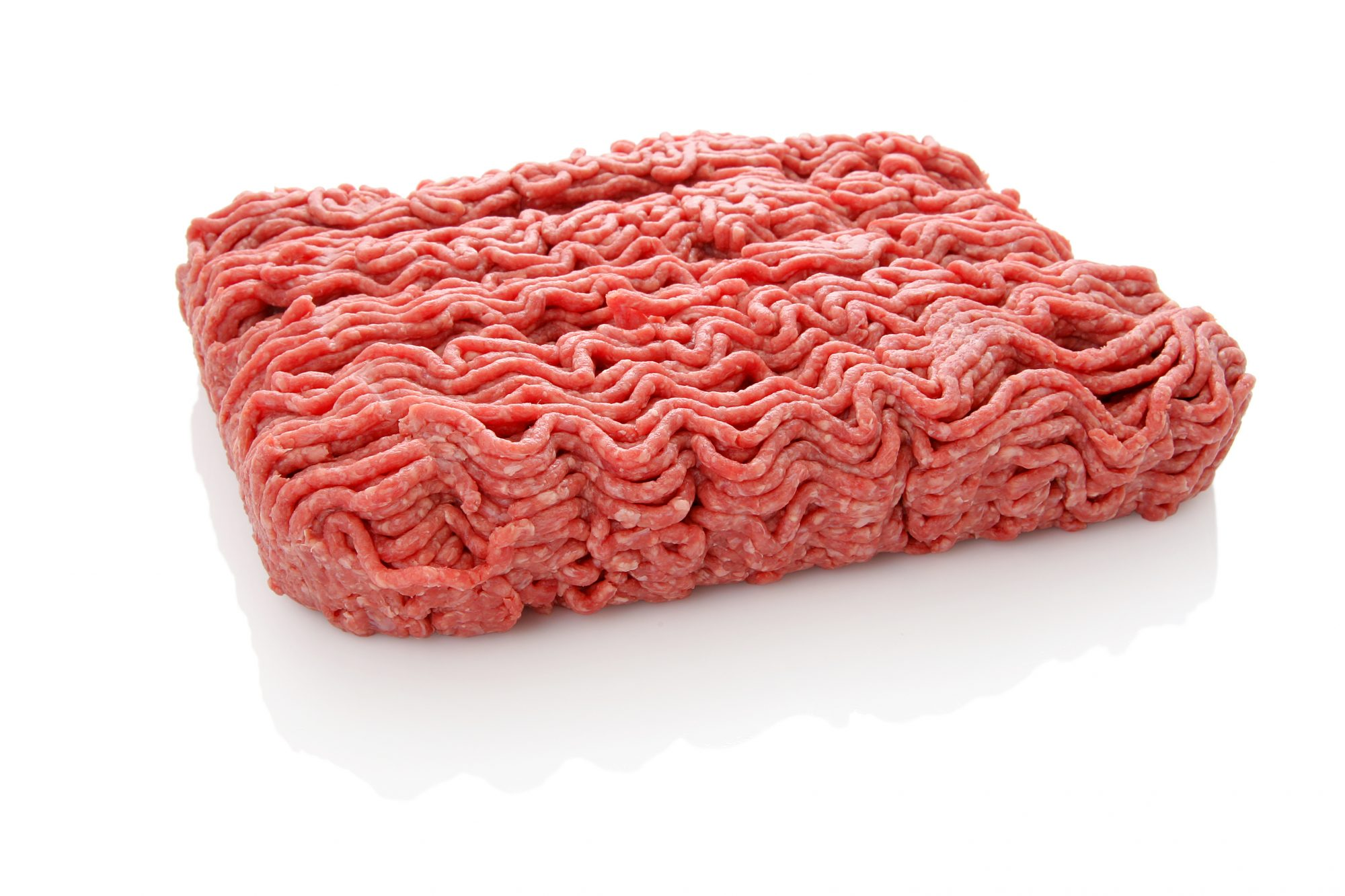 Ground beef on no background Getty 7/15/20