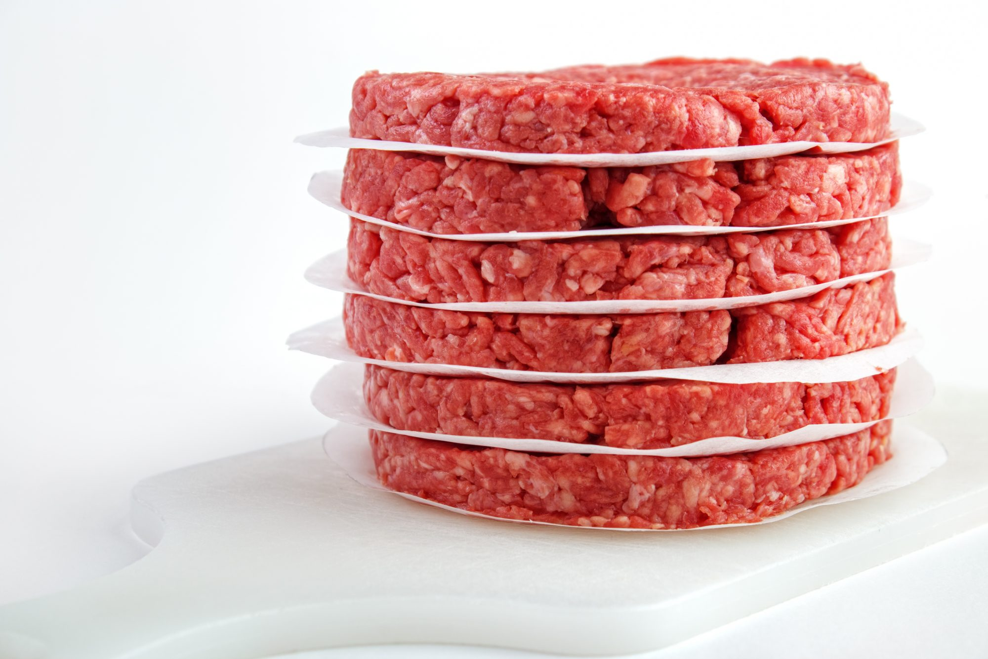 Raw hamburger patties Getty 7/15/20