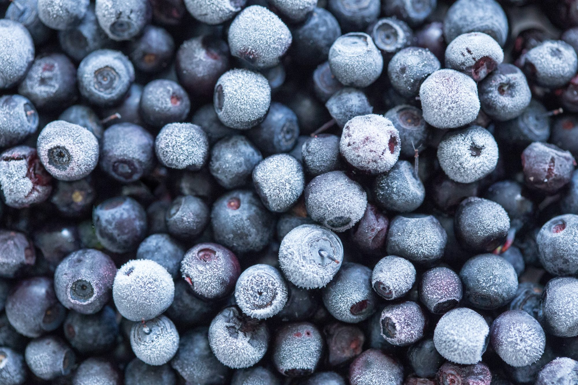 Frozen blueberries Getty 7/16/20