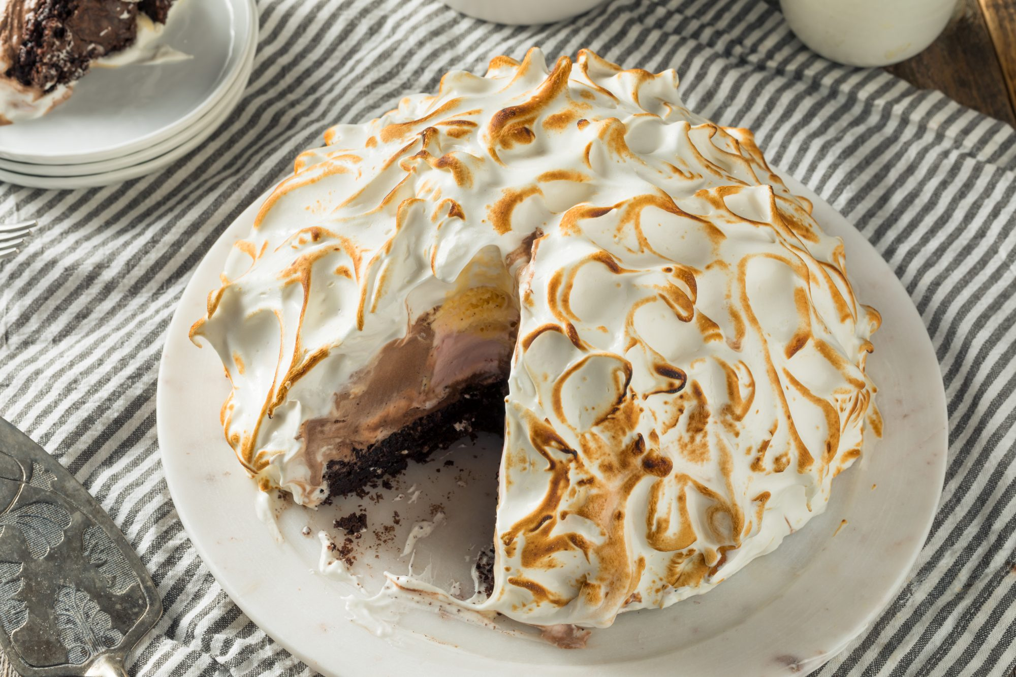 Chocolate Baked Alaska Getty 8/12/20