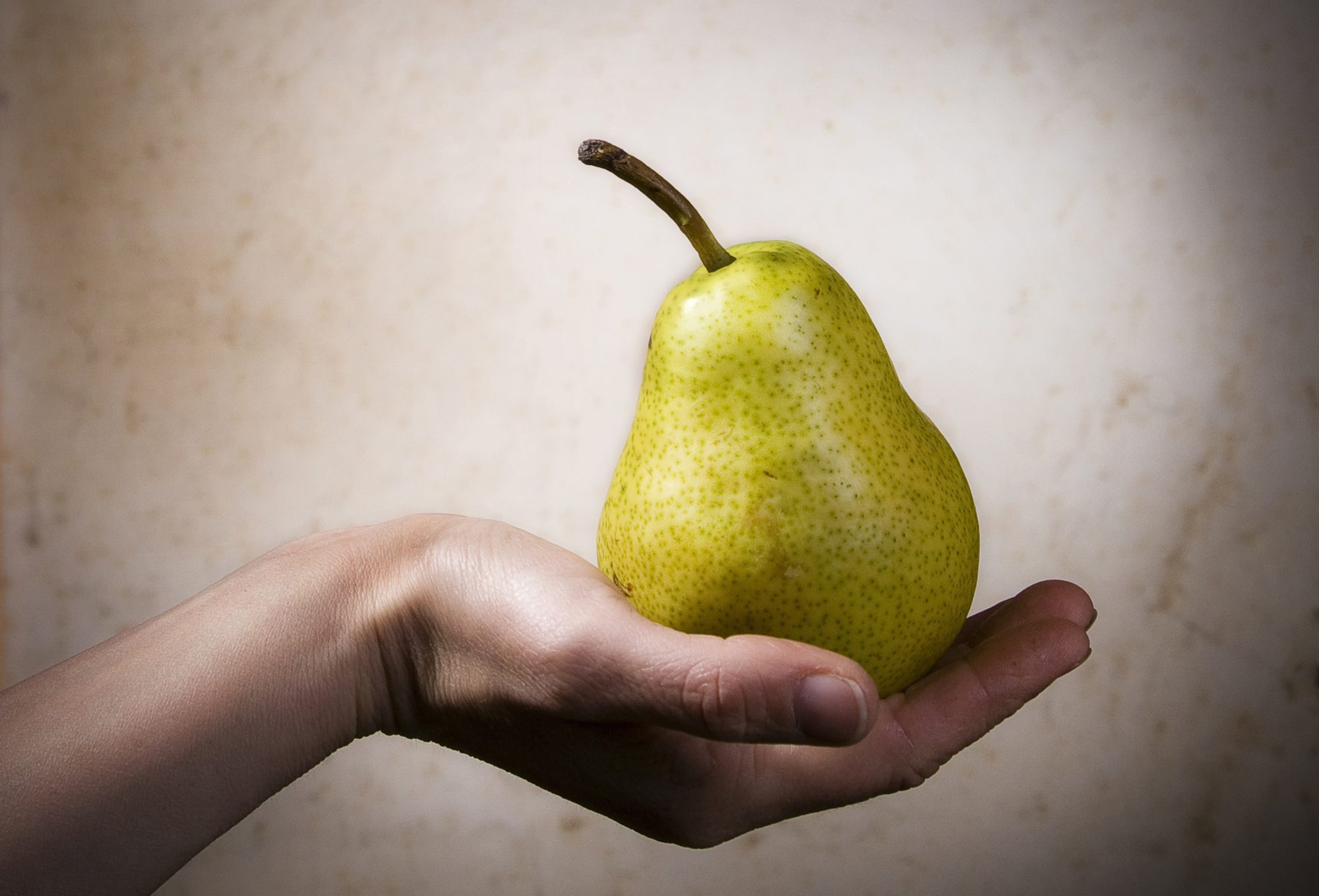 Pear in hand Getty 9/3/20
