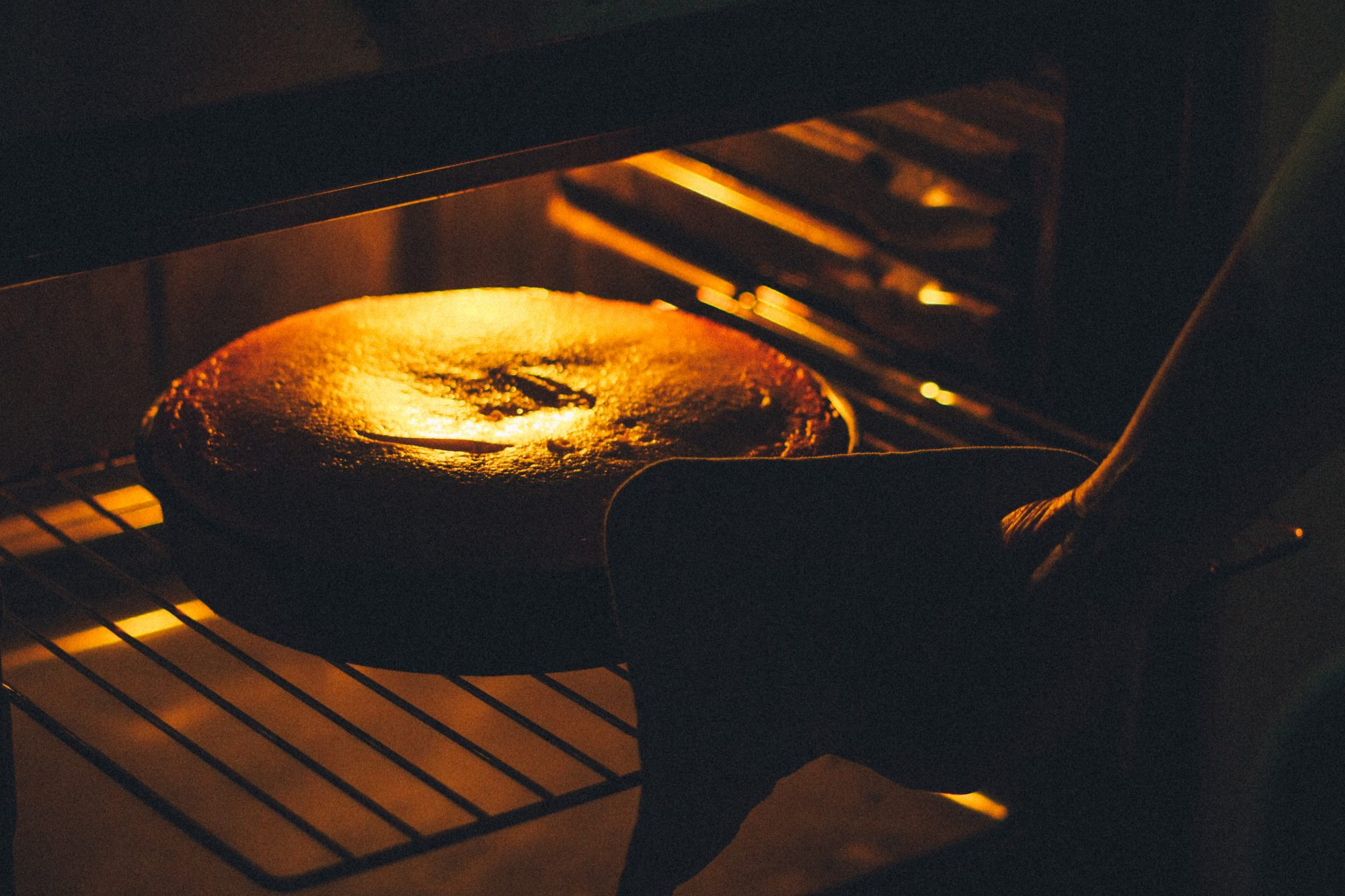 Cake in oven Getty 9/14/20