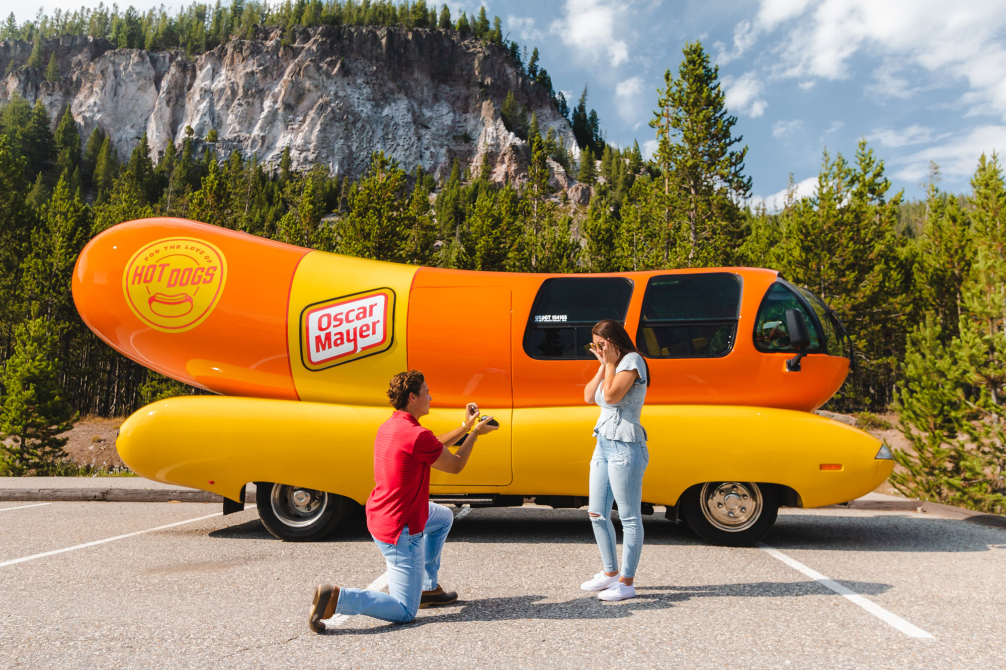 Want the Wienermobile for Your Marriage Proposal? Oscar Mayer Is Here to Help