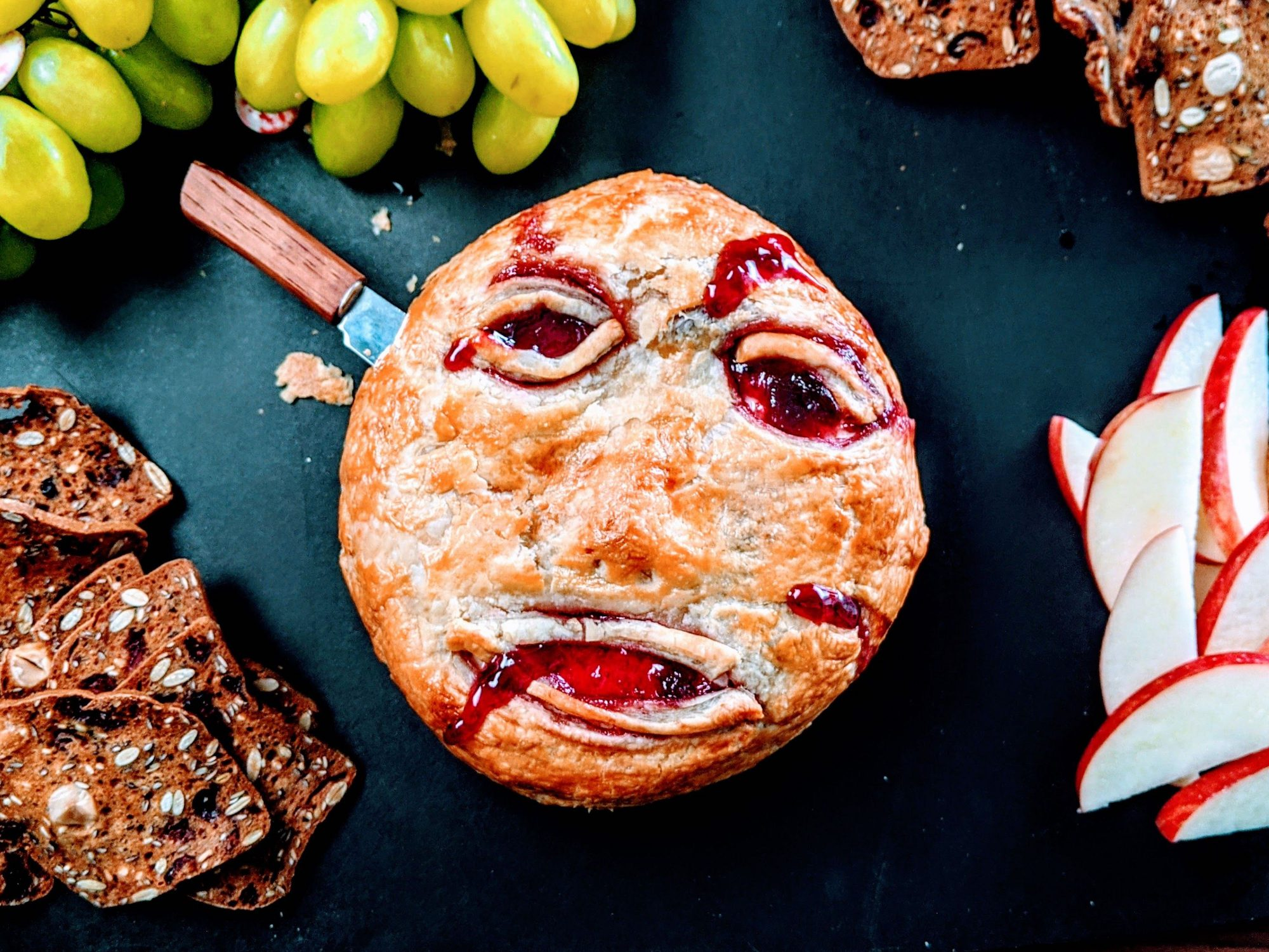 wd - Spooky Baked Brie Image