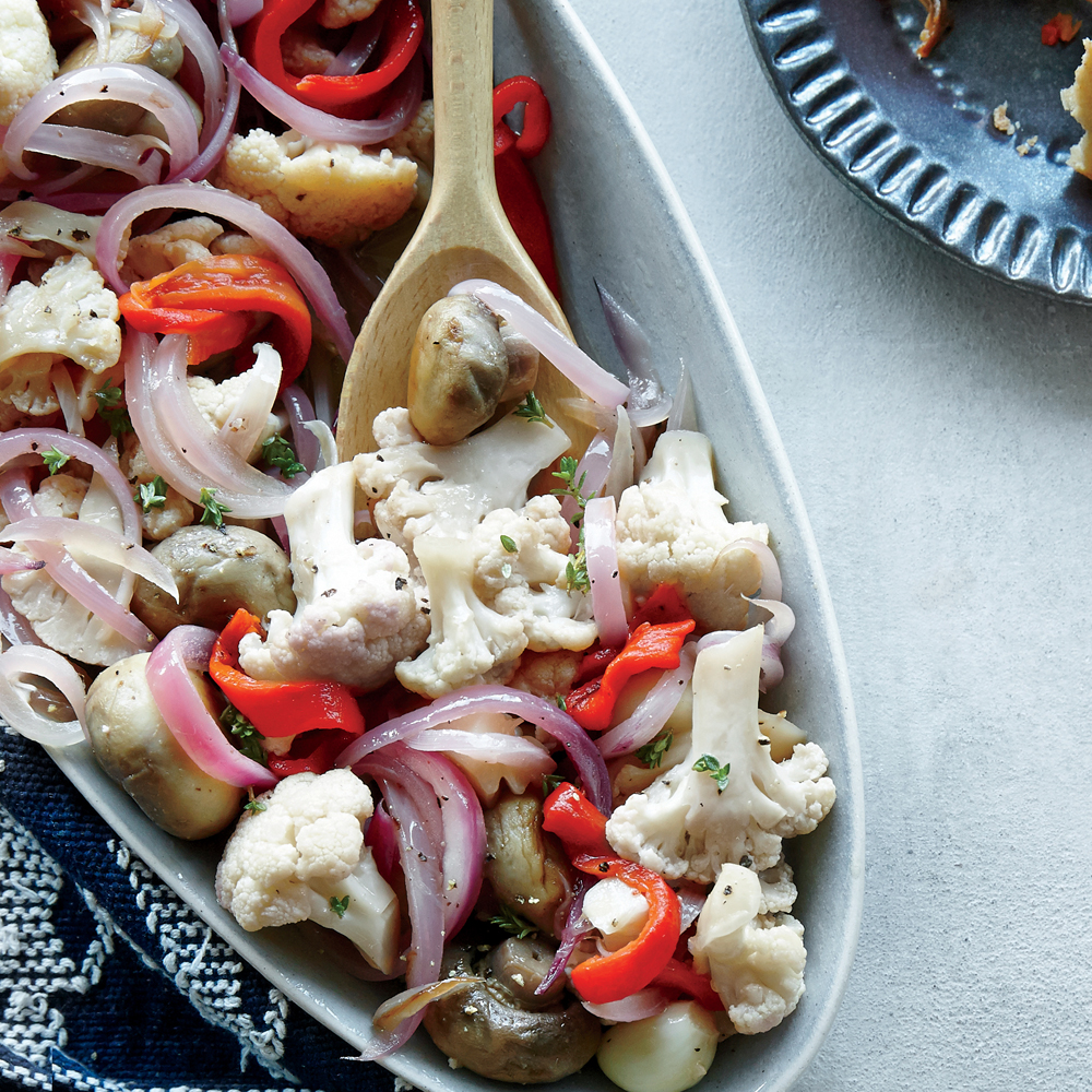 Sweet and Sour Vegetable Escabeche
