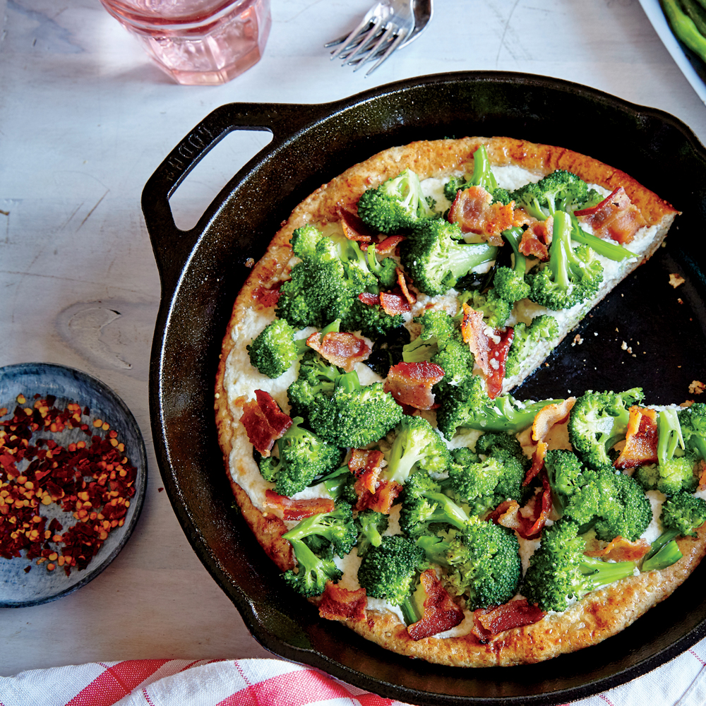 Broccoli Bacon Skillet