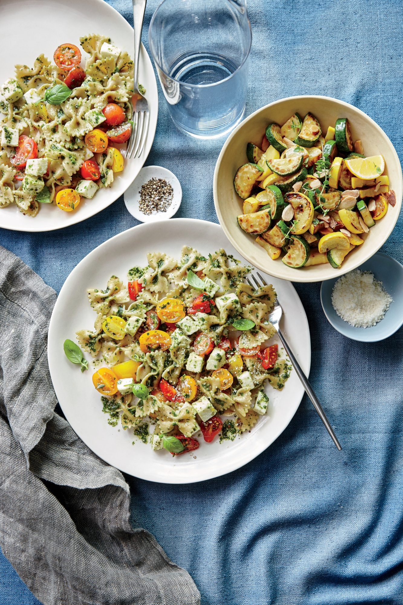 Sauteed Summer Squash with Thyme and Almonds