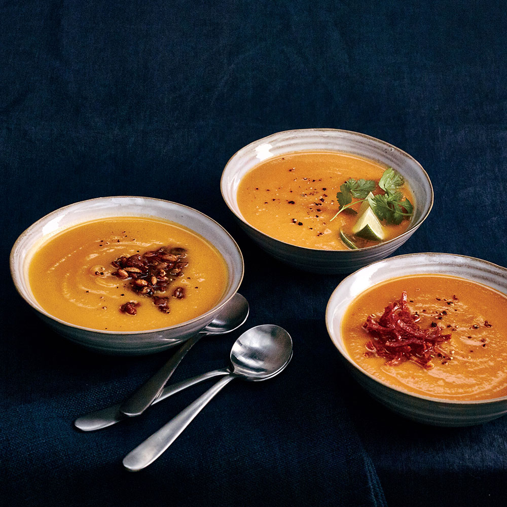 Thai Coconut-Pumpkin Soup