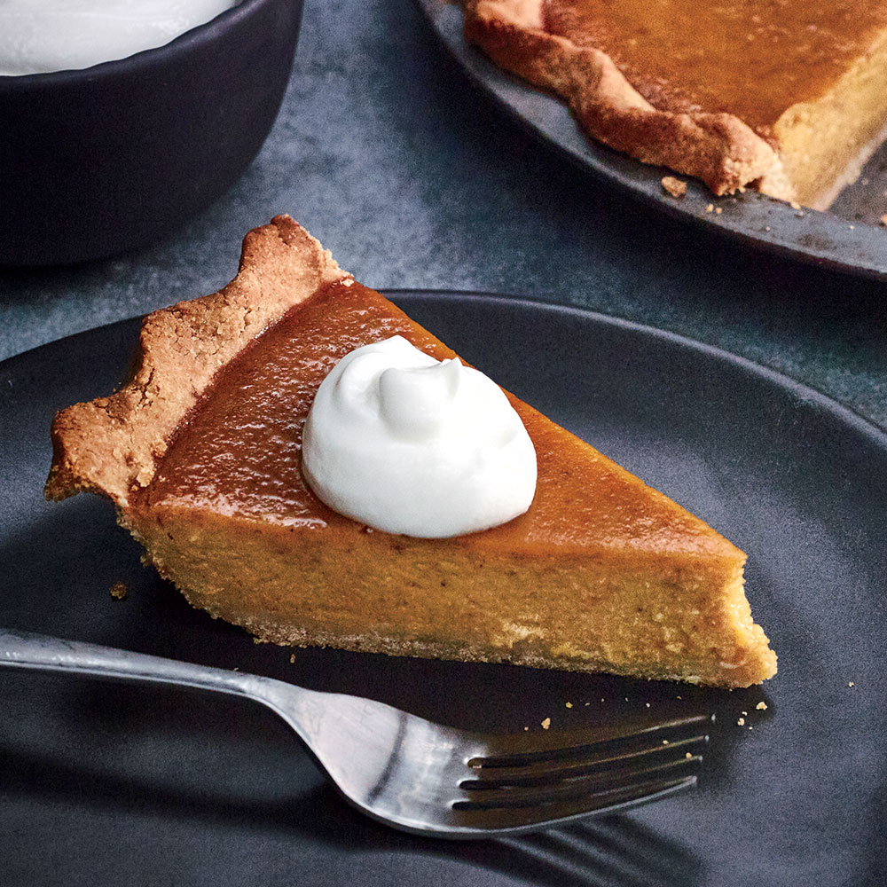 Roasted Pumpkin Pie
