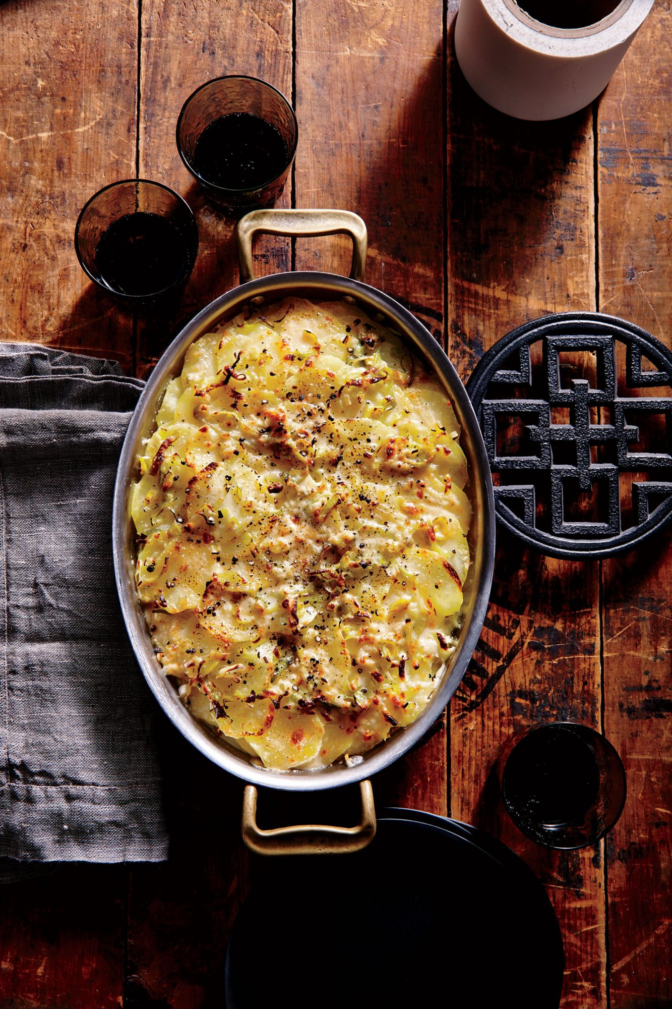 ck-Potato and Leek Gratin Image