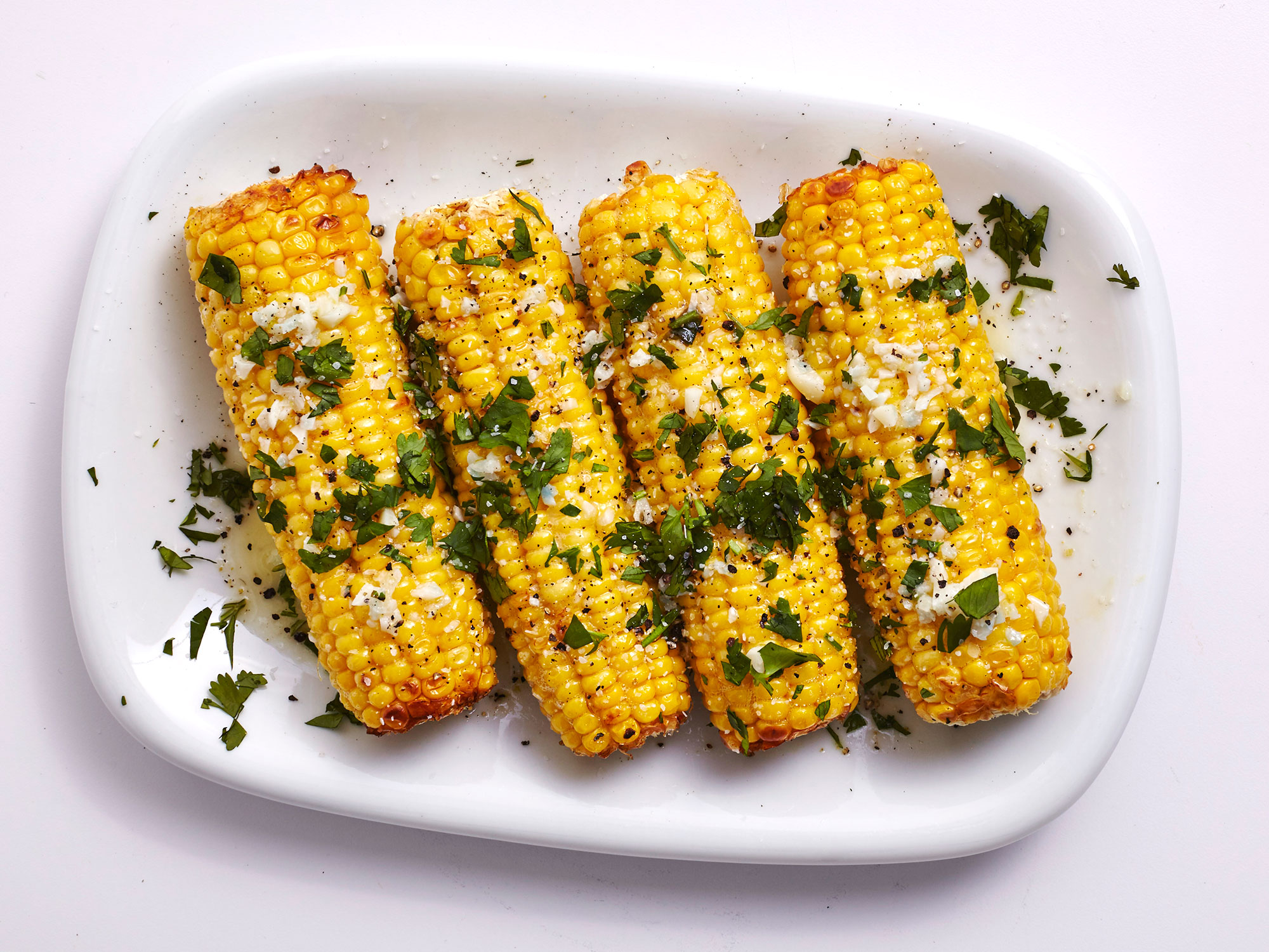 Mexican-Style Air-Fried Corn