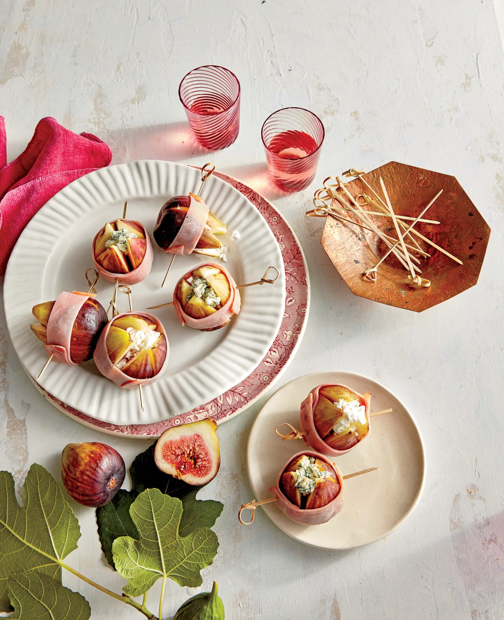 Ham-Wrapped Figs