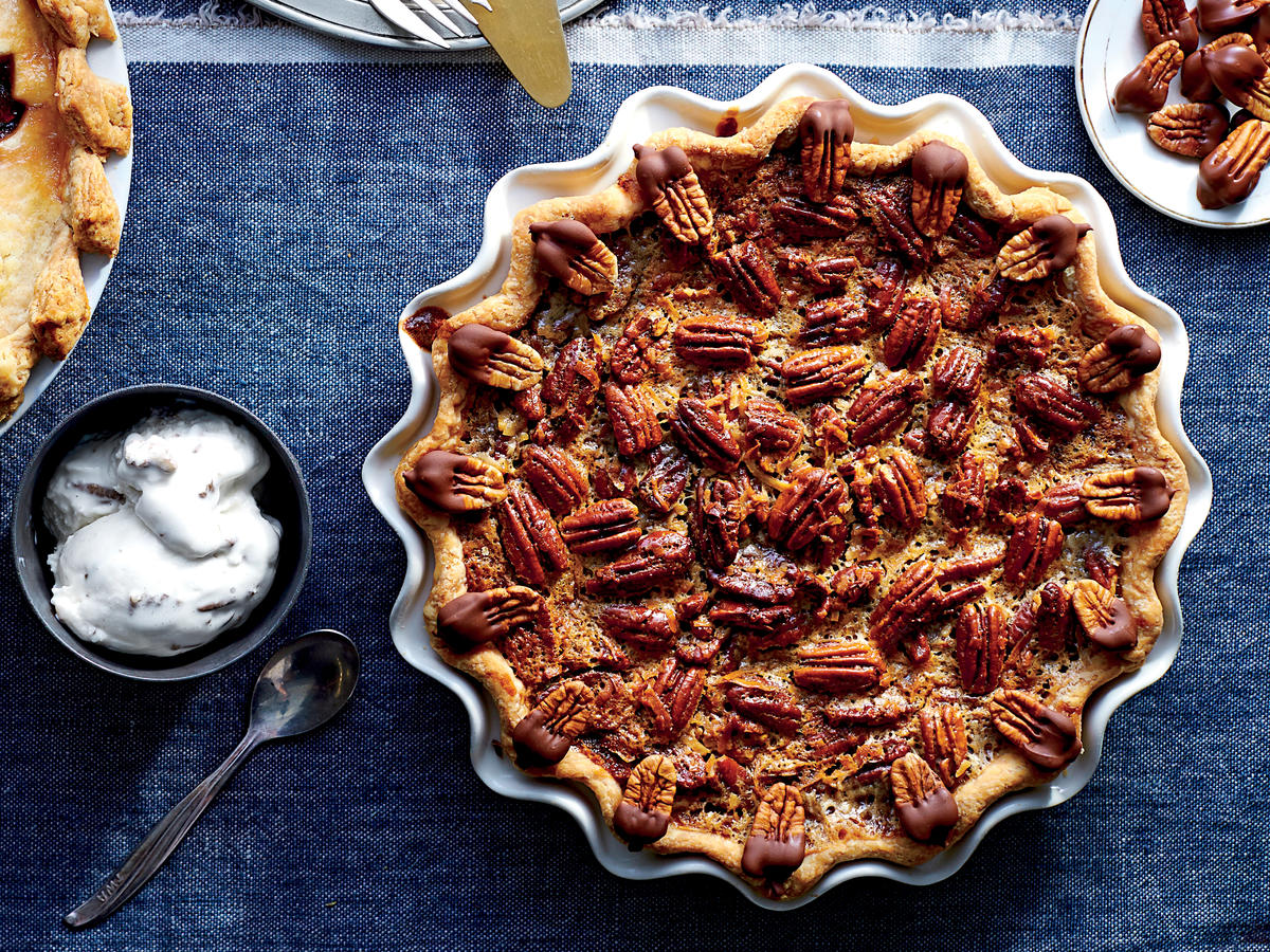 German Chocolate-Pecan Pie