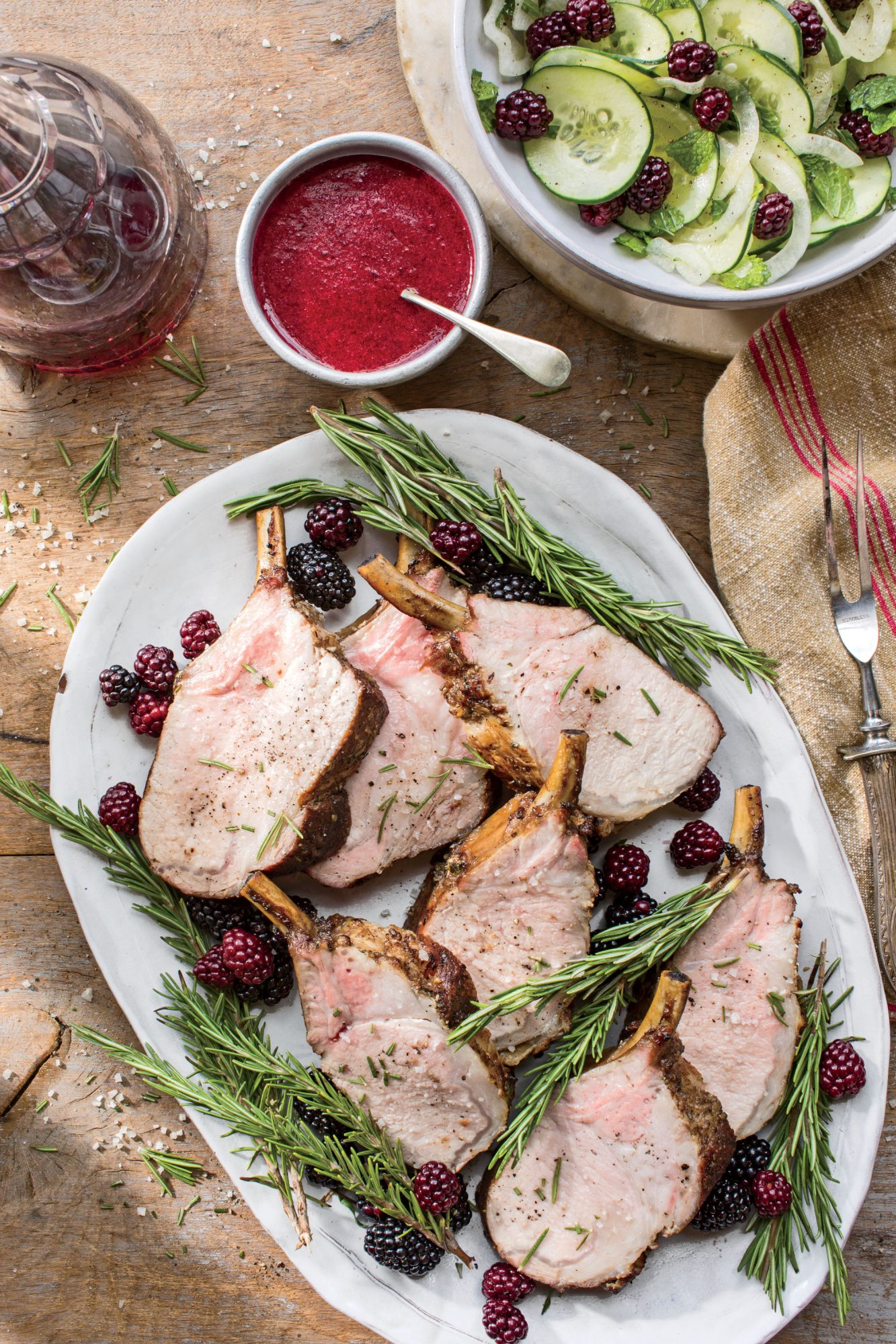 grilled-pork-loin-with-blackberry-glaze