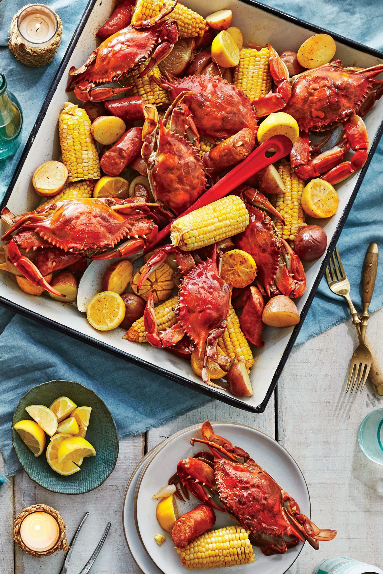 sl-Crab Boil with Beer and Old Bay Recipe
