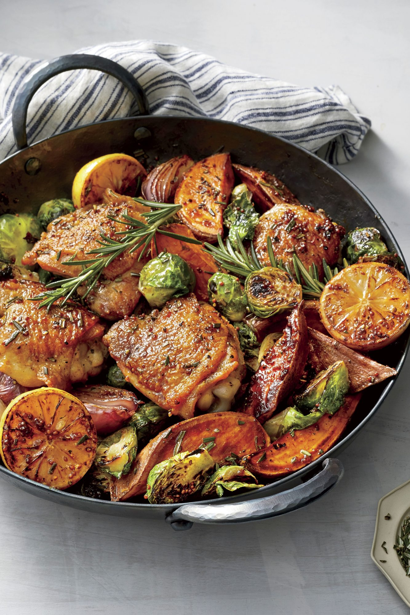 Rosemary Chicken Thighs and Vegetables