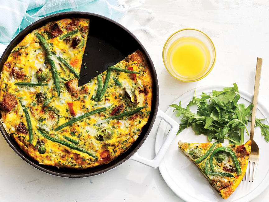 Harvest Vegetable Frittata