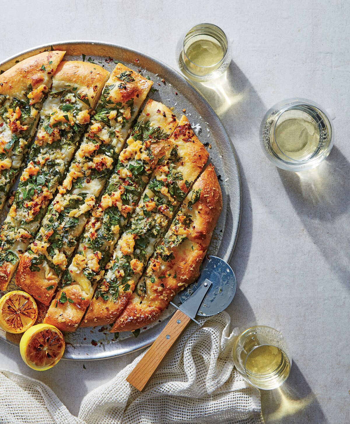 Chopped-Clam Pizza