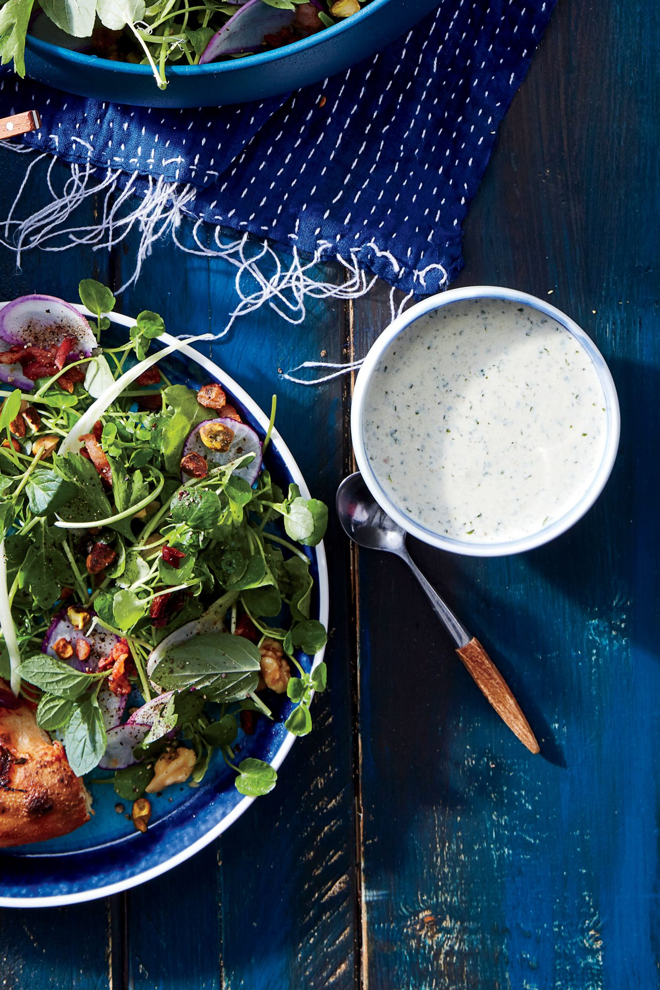Roasted Jalapeno Buttermilk Dressing