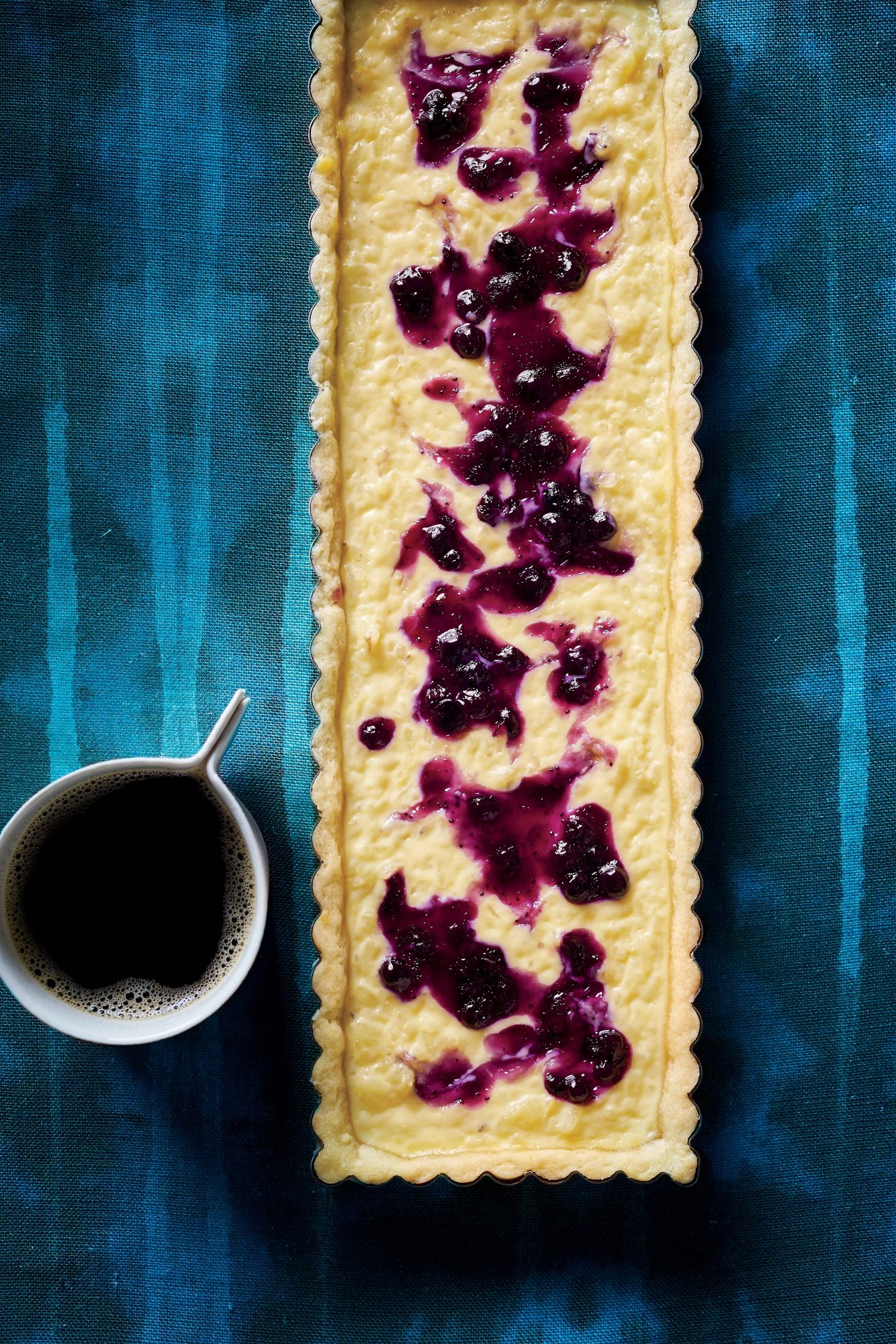 Lavender Rice Pudding Tarts