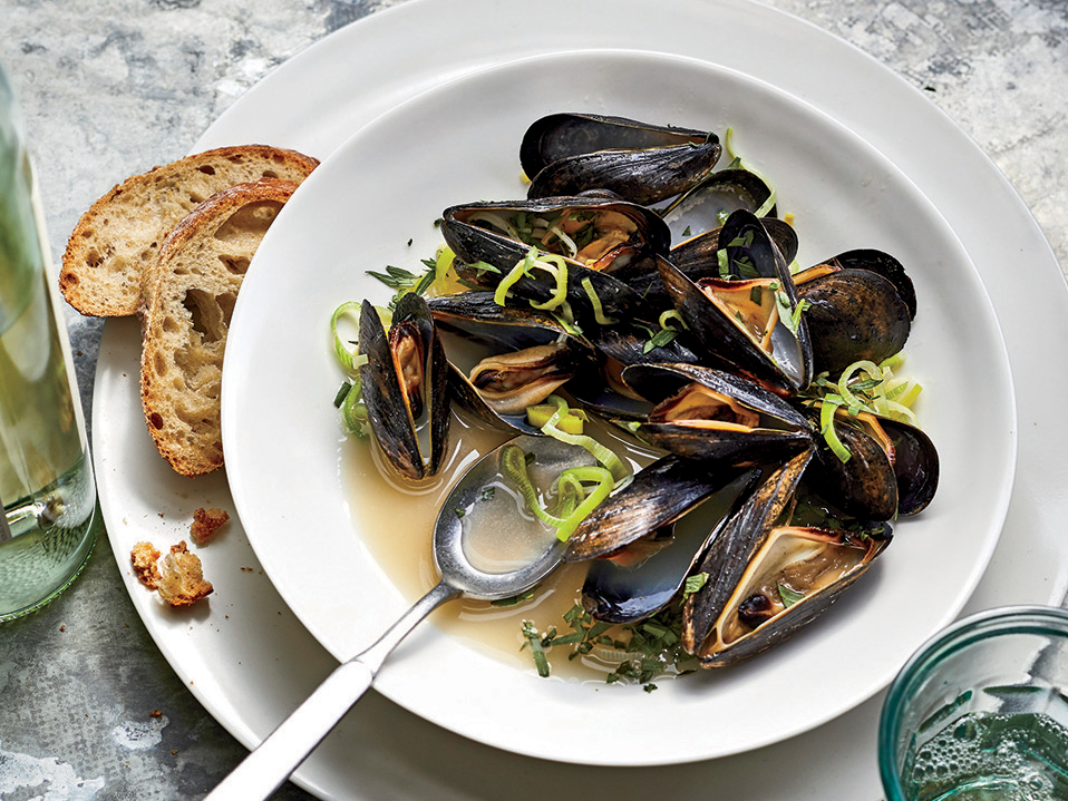A Perfect Pot of Mussels