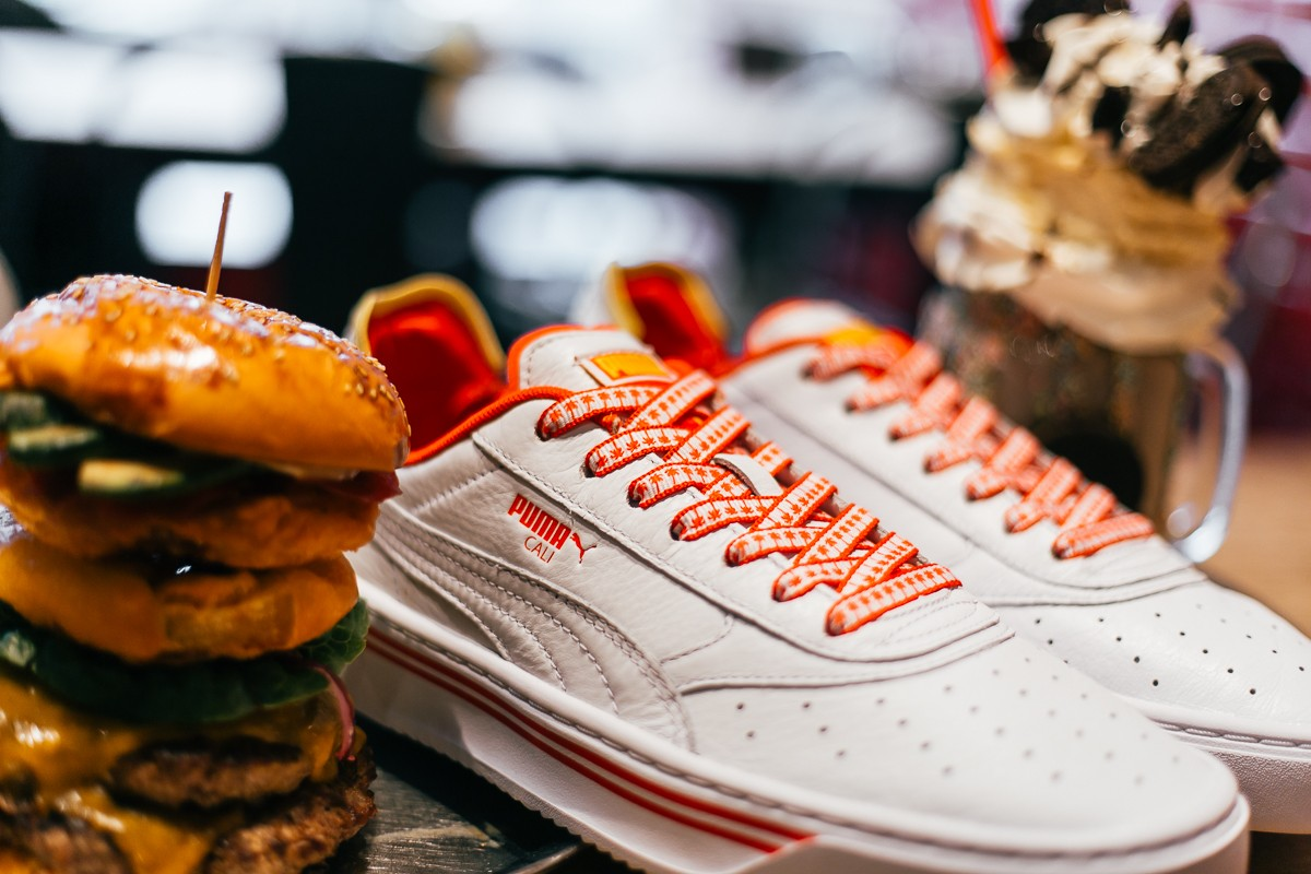 Puma Just Released In-N-Out-Inspired Sneakers